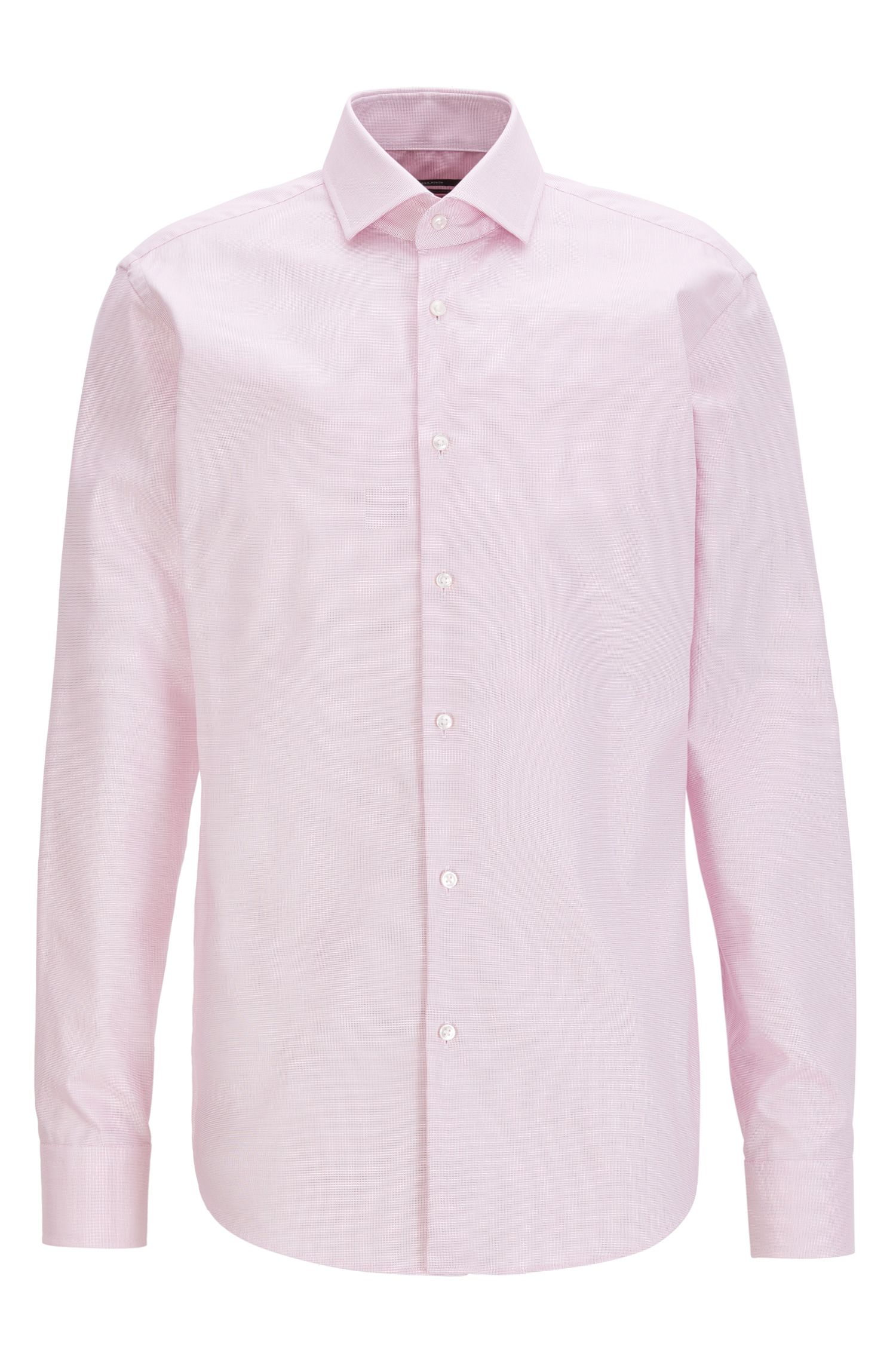 Fresh Active Traveler Cotton Dress Shirt, Regular Fit | Gordon, Pink