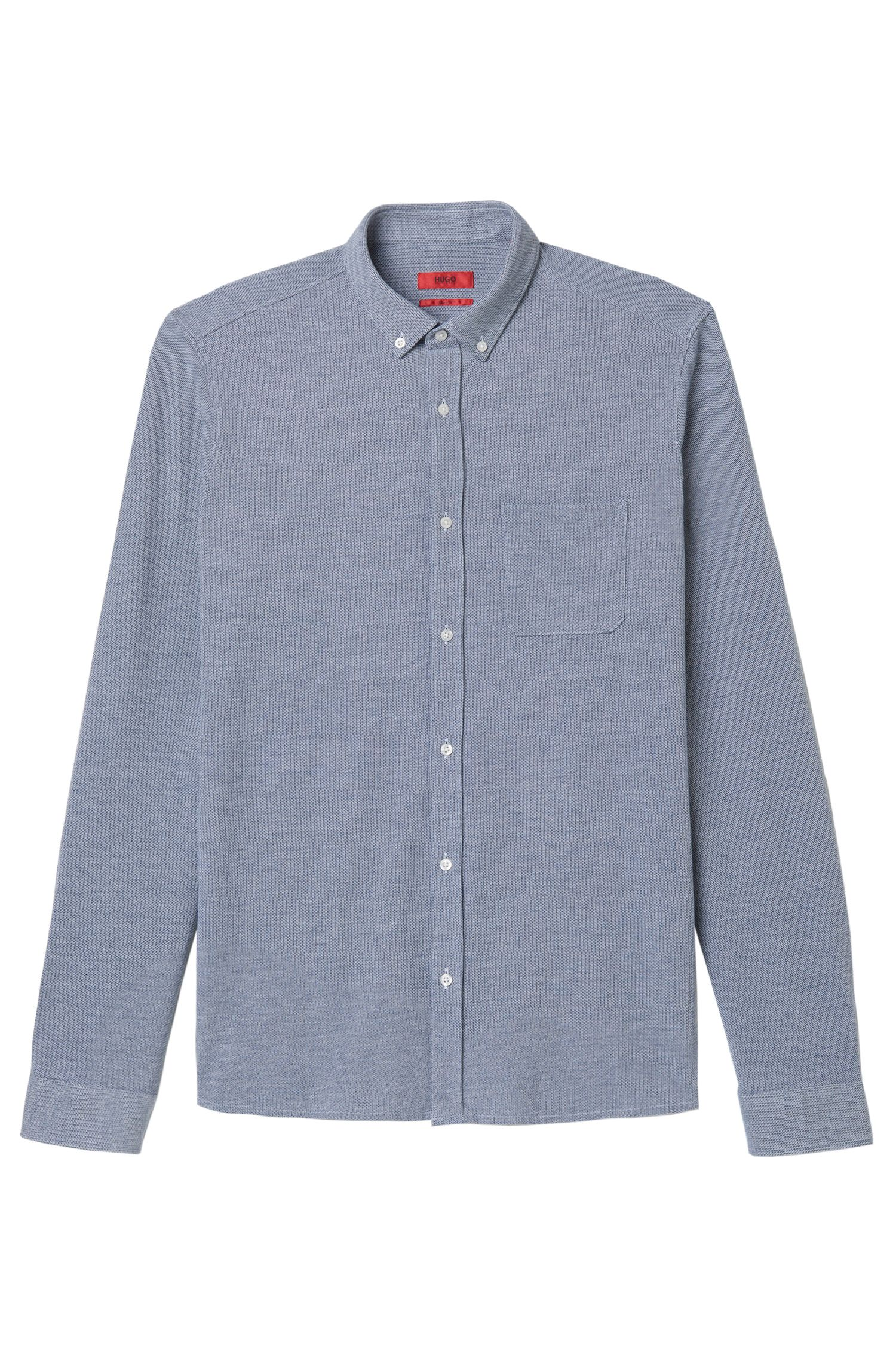 Pure Cotton Shirt, Relaxed Fit | Emingway