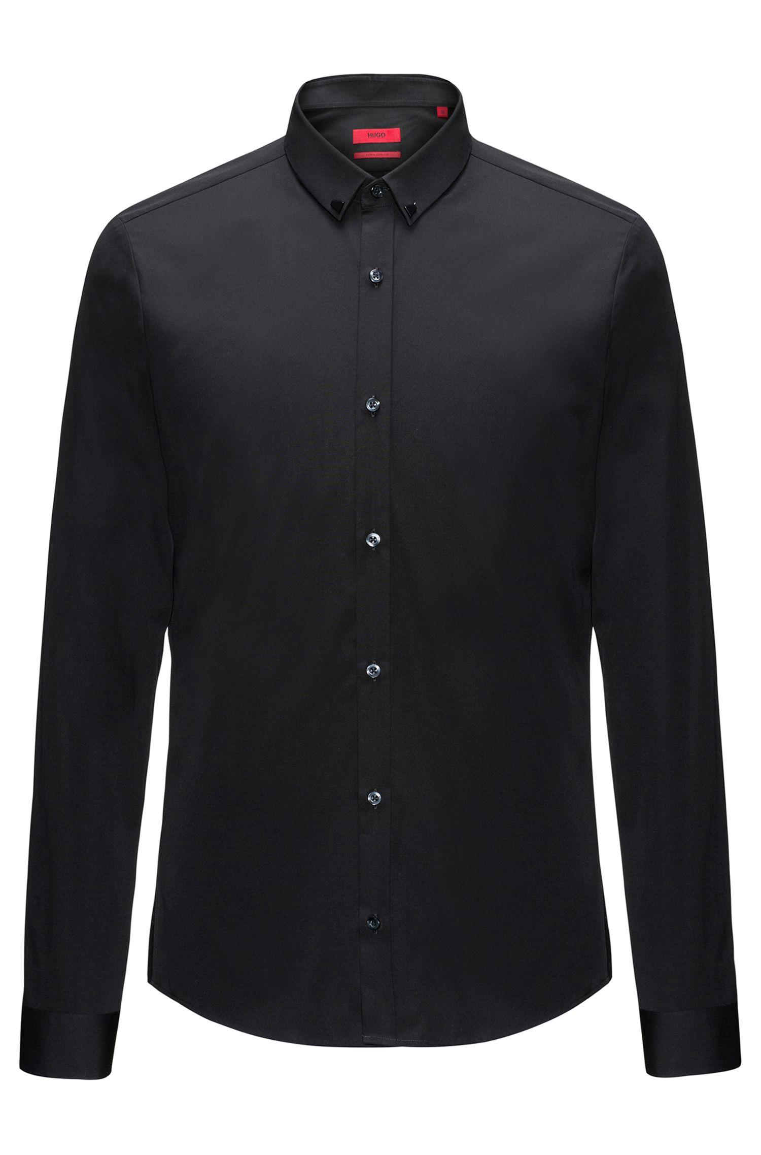 Jeweled Cotton Sport Shirt, Extra Slim Fit | Ero