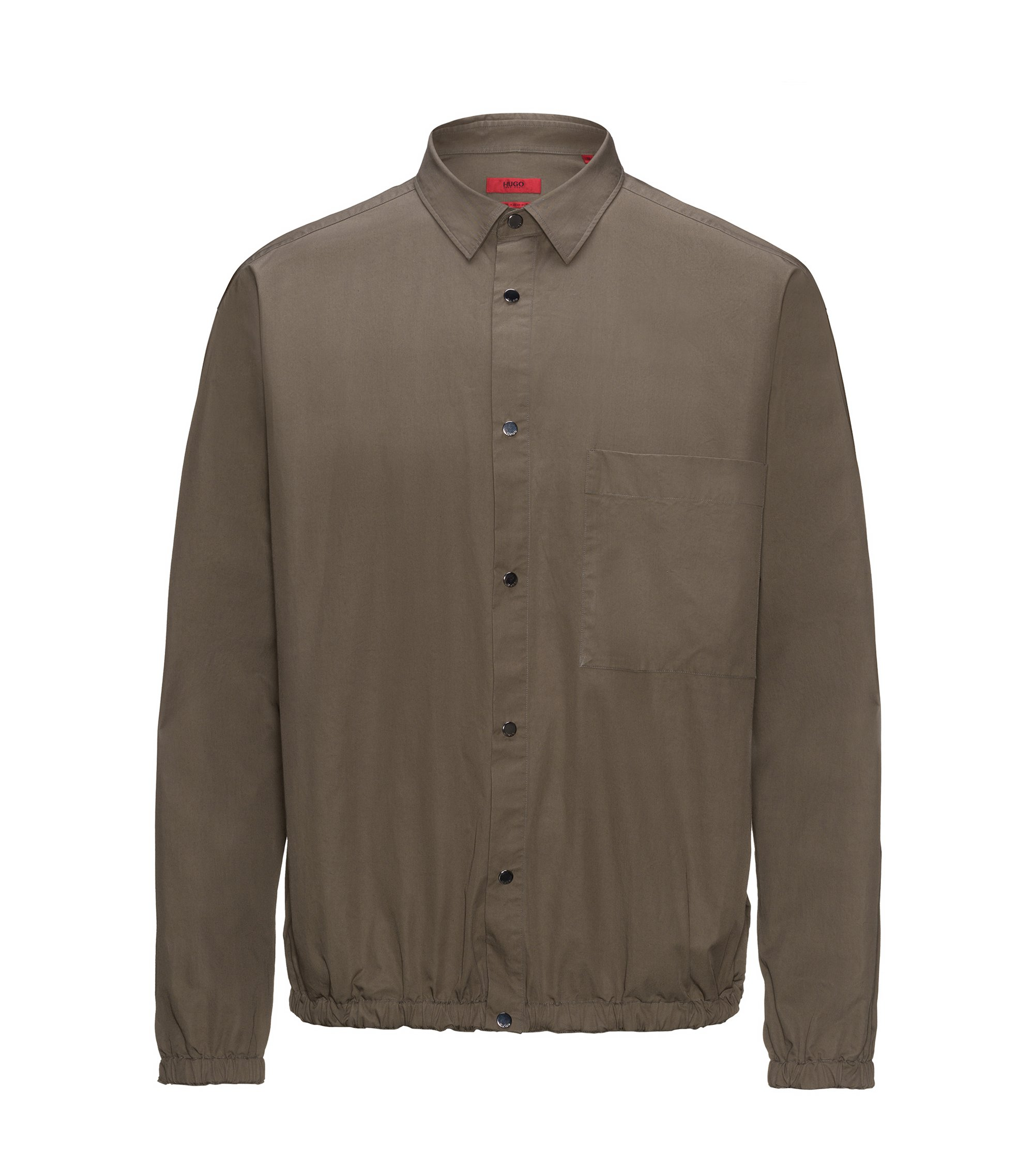 Cotton Sport Shirt | Erikson, Brown