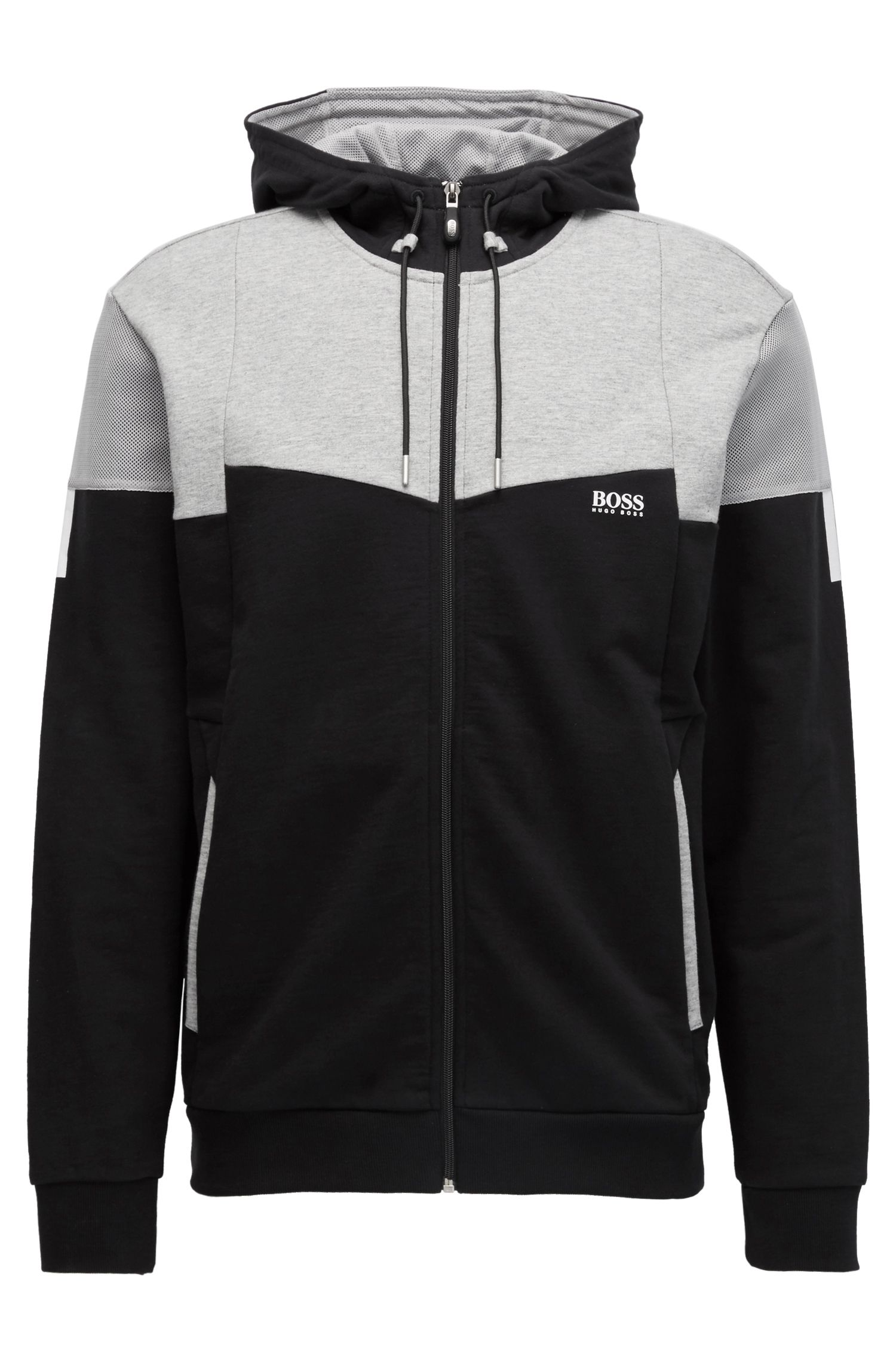 Cotton Full-Zip Hoodie | Saggy