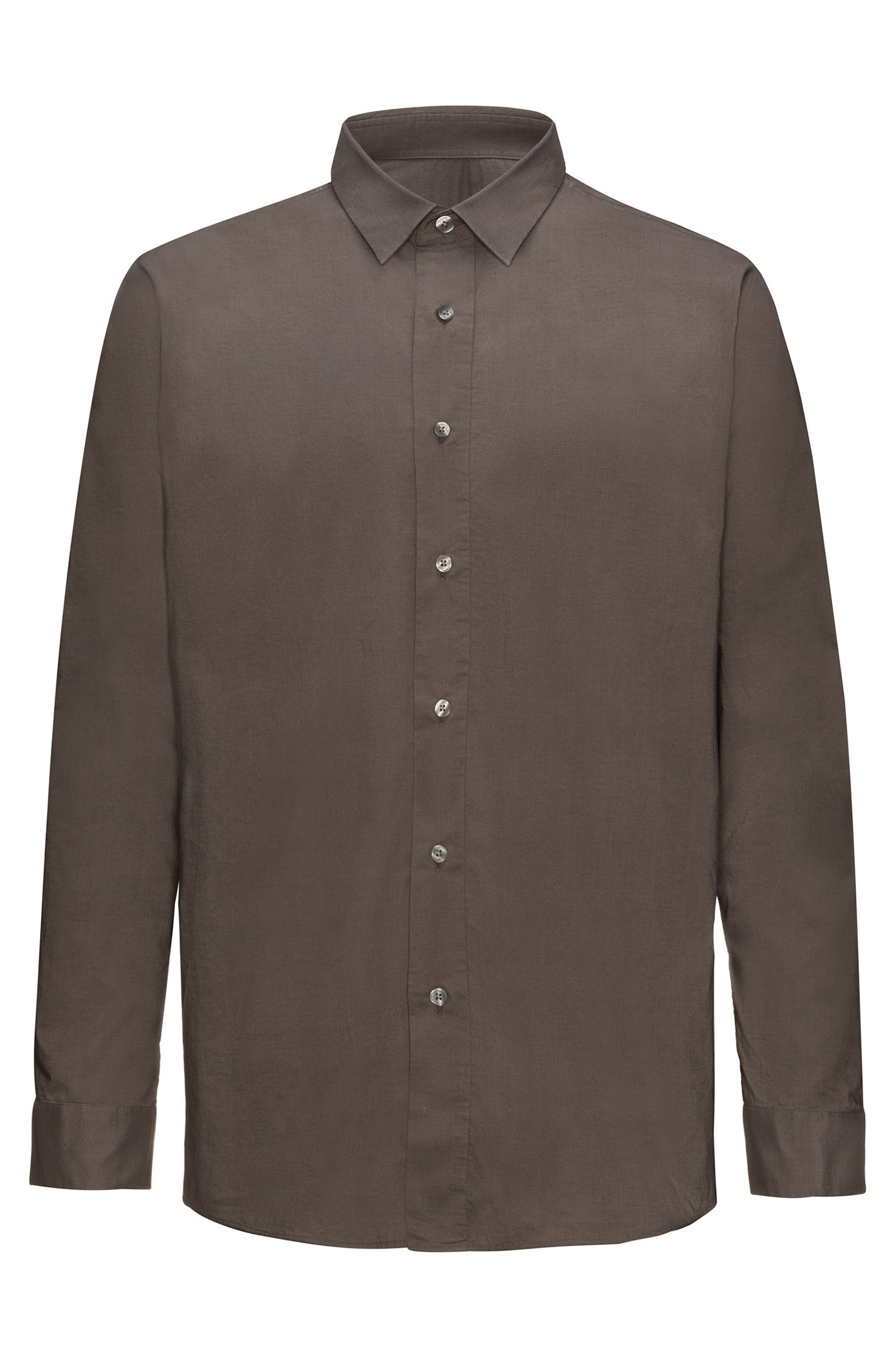 Cotton Sport Shirt, Relaxed Fit | Emilton