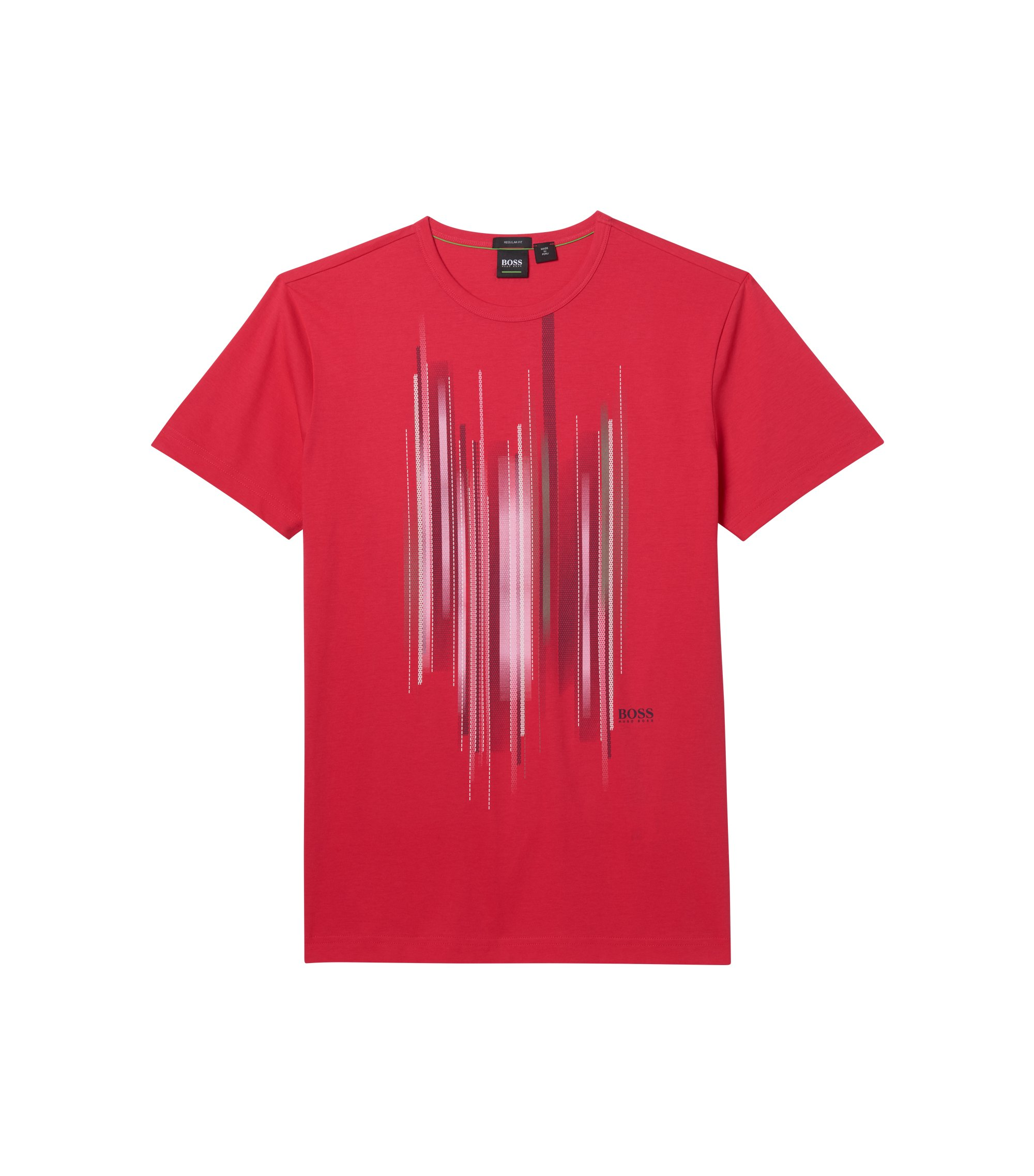 Cotton Graphic T-Shirt | Tee, Pink