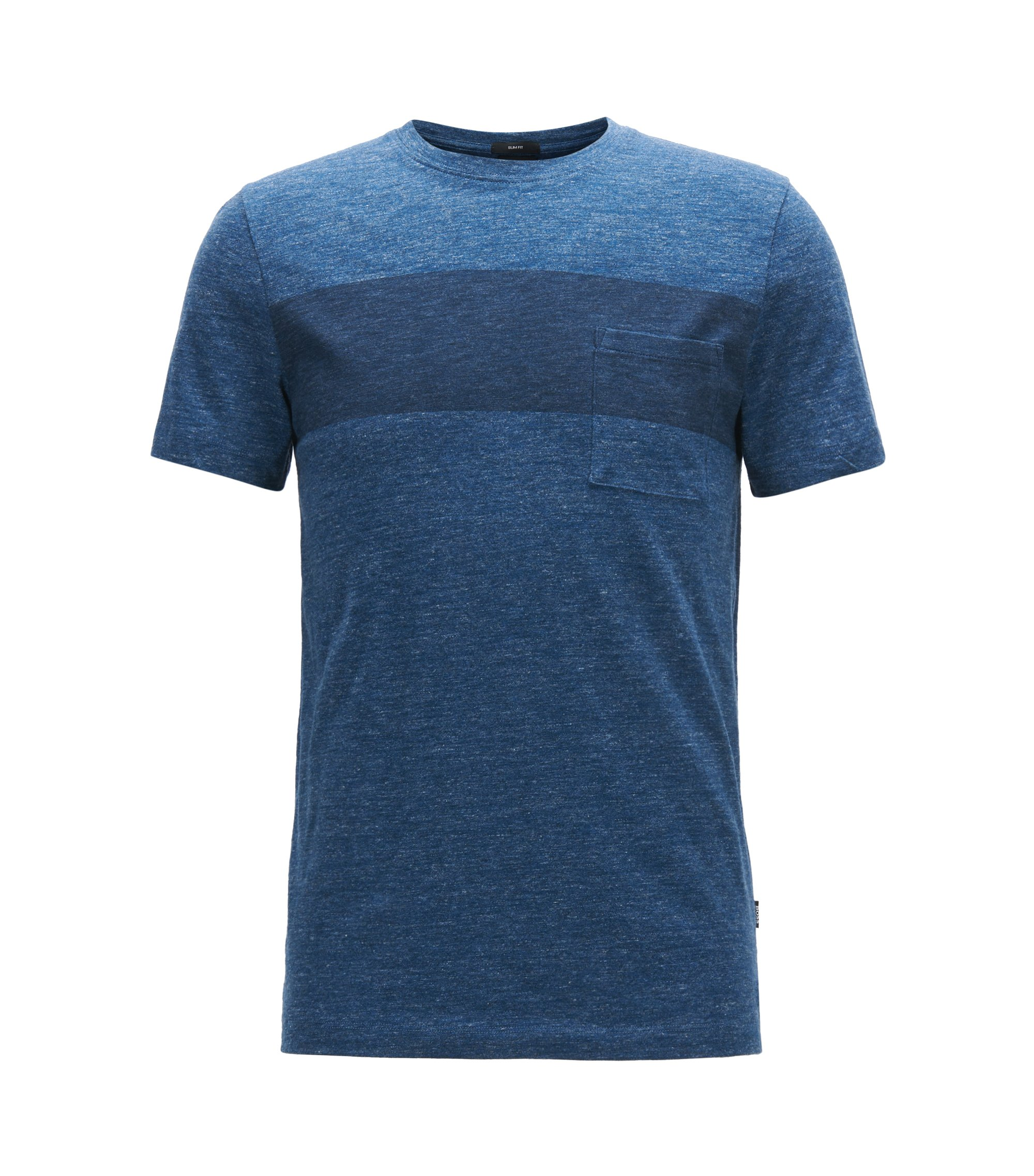 Colorblock Cotton Jersey T-Shirt | Tessler, Dark Blue