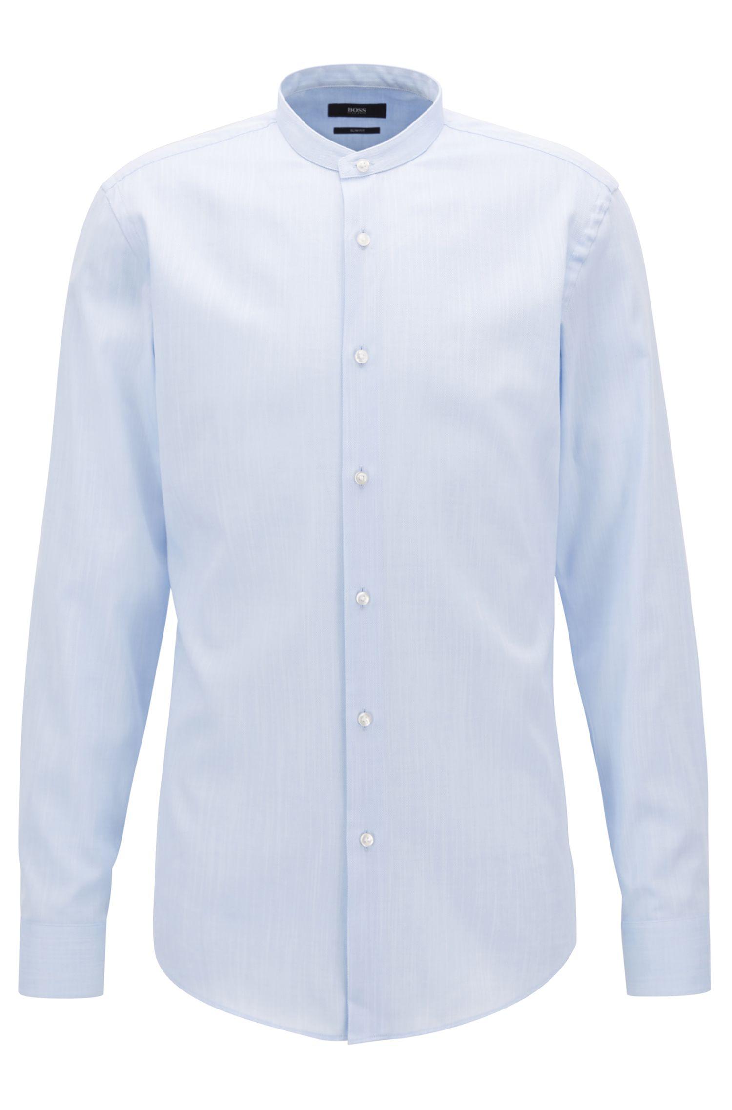 Cotton Dress Shirt, Slim Fit | Jordi, Light Blue