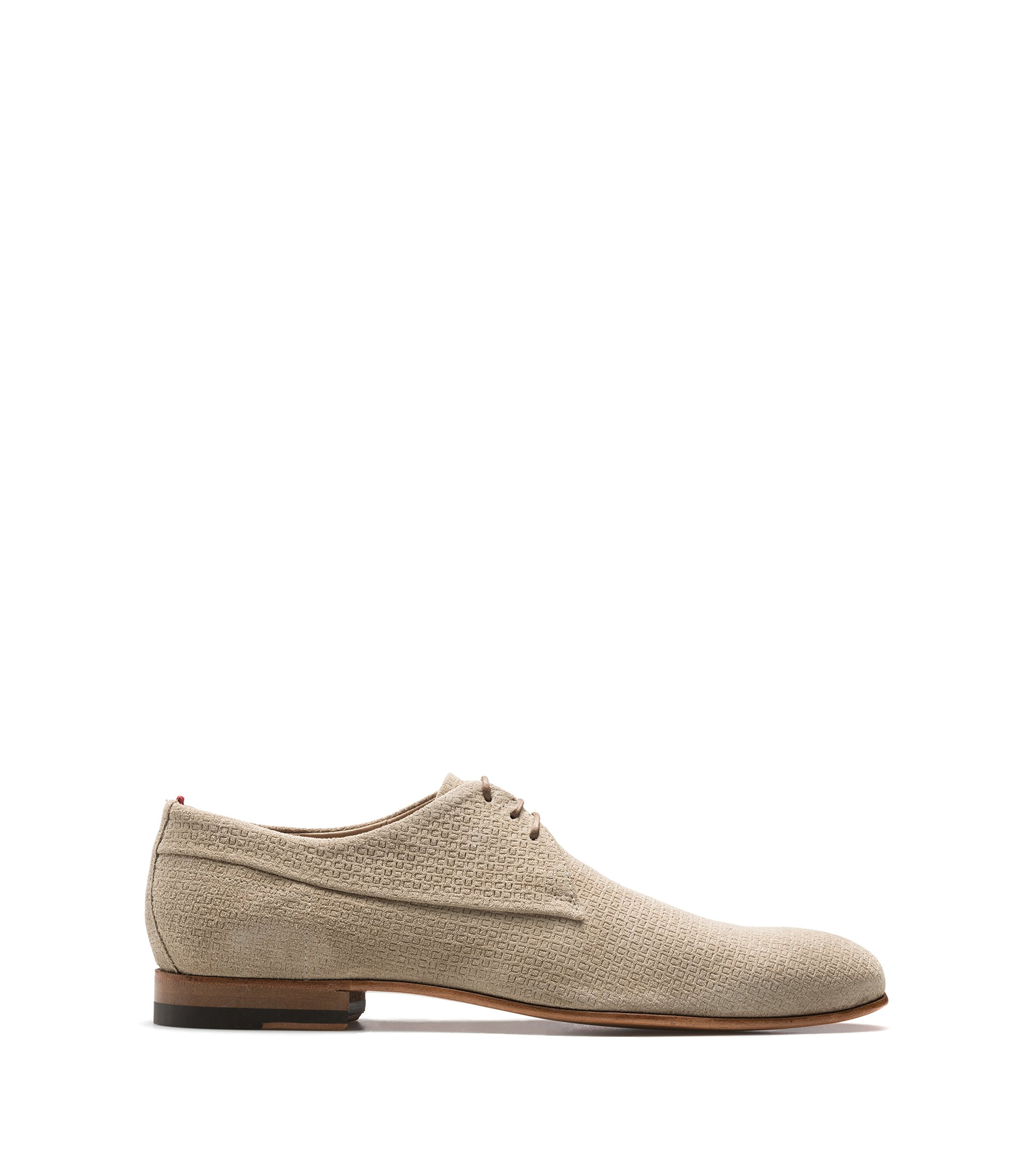 Suede Derby Shoe | Cordoba , Light Beige