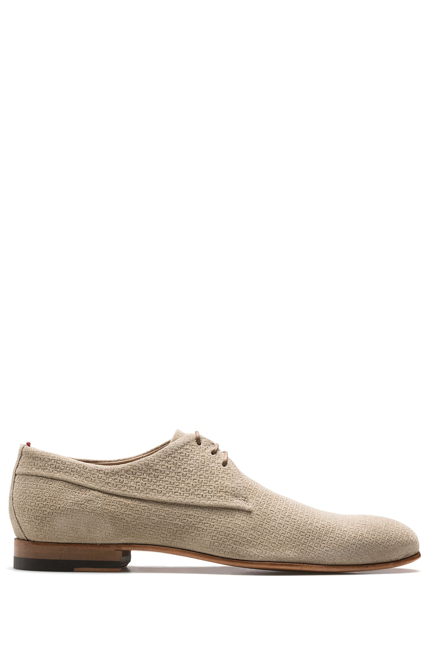 Suede Derby Shoe | Cordoba , Light Beige