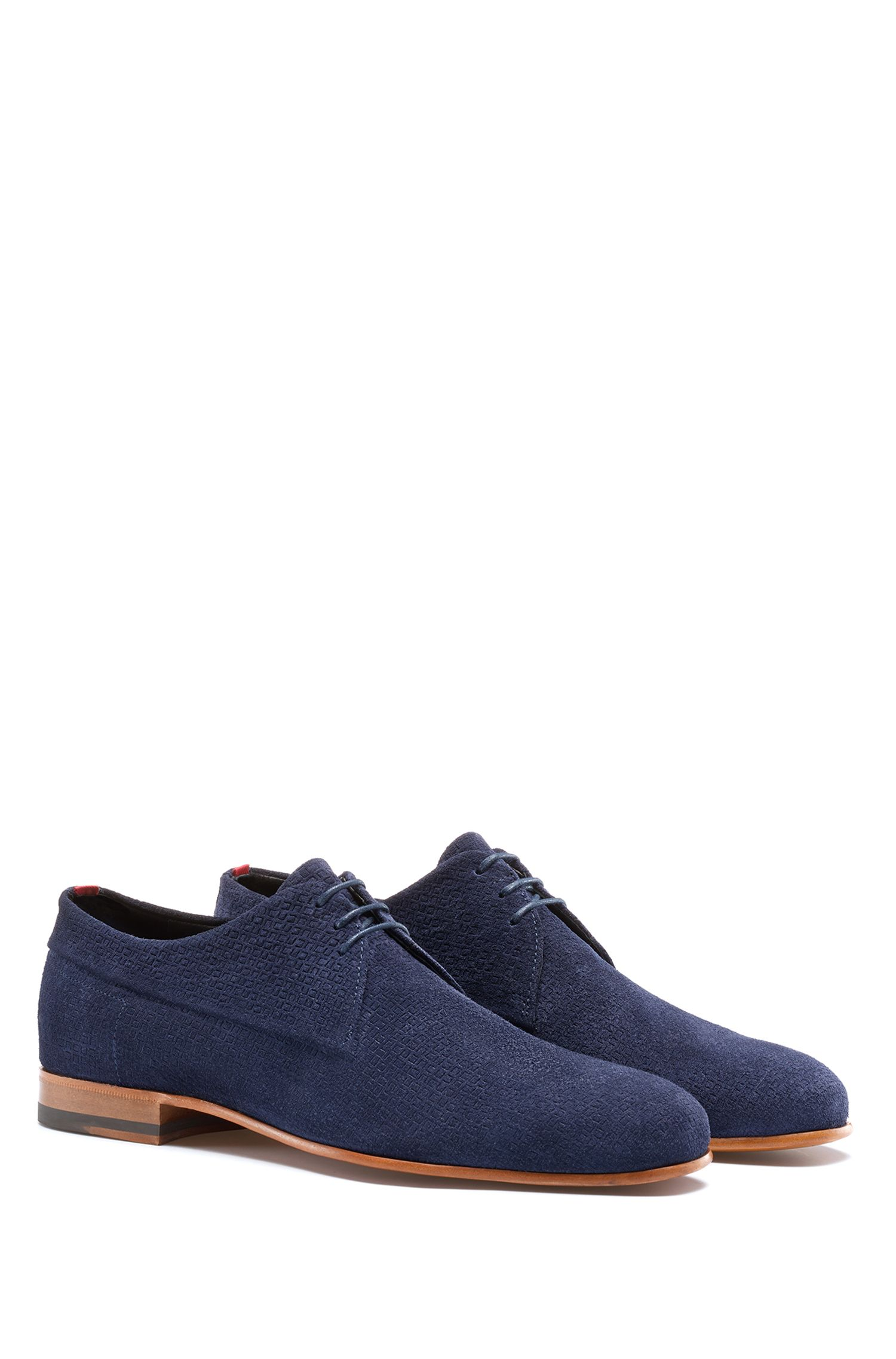Suede Derby Shoe | Cordoba , Blue