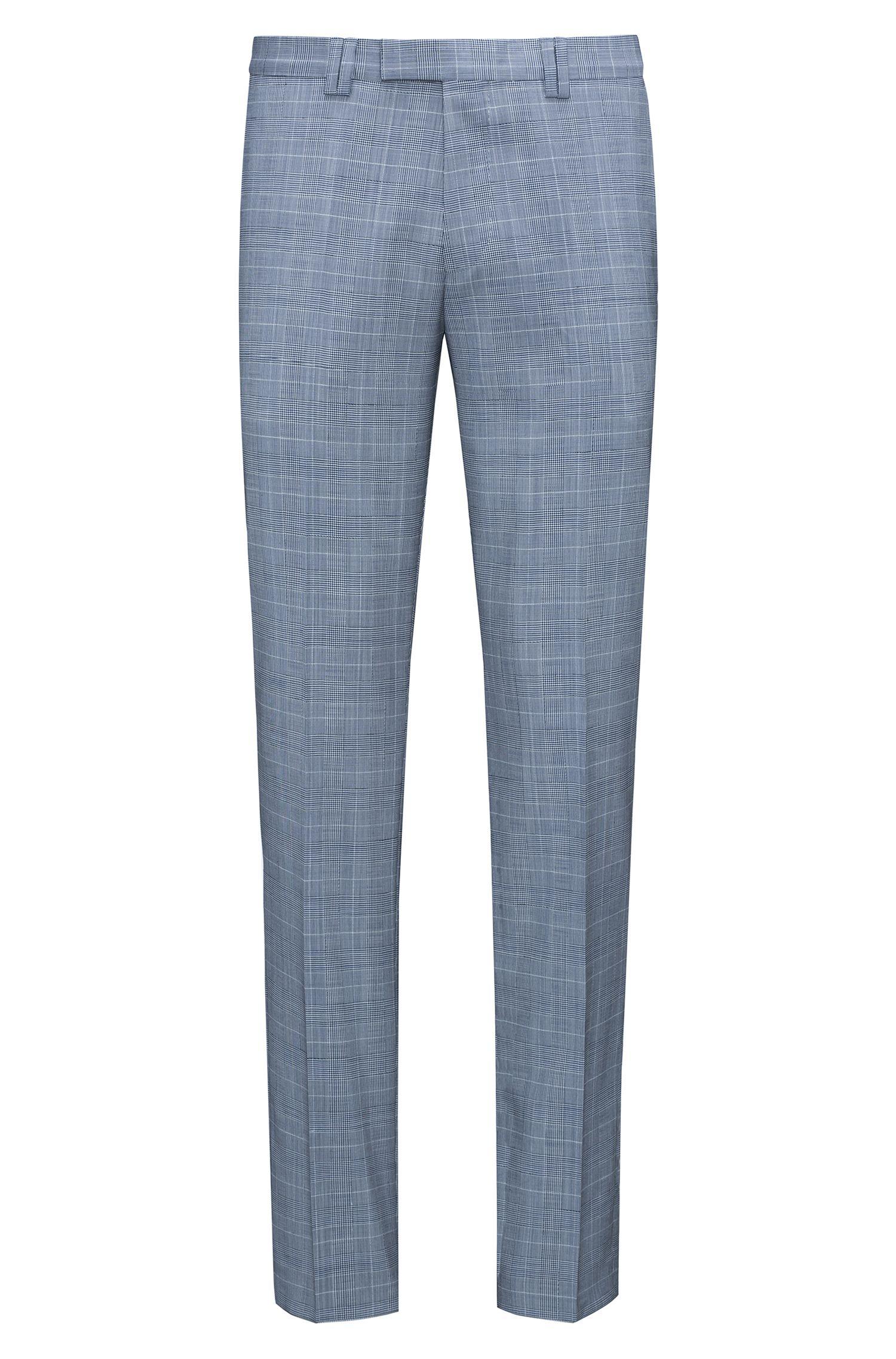 Plaid Virgin Wool Suit, Extra Slim Fit | Phil/Taylor