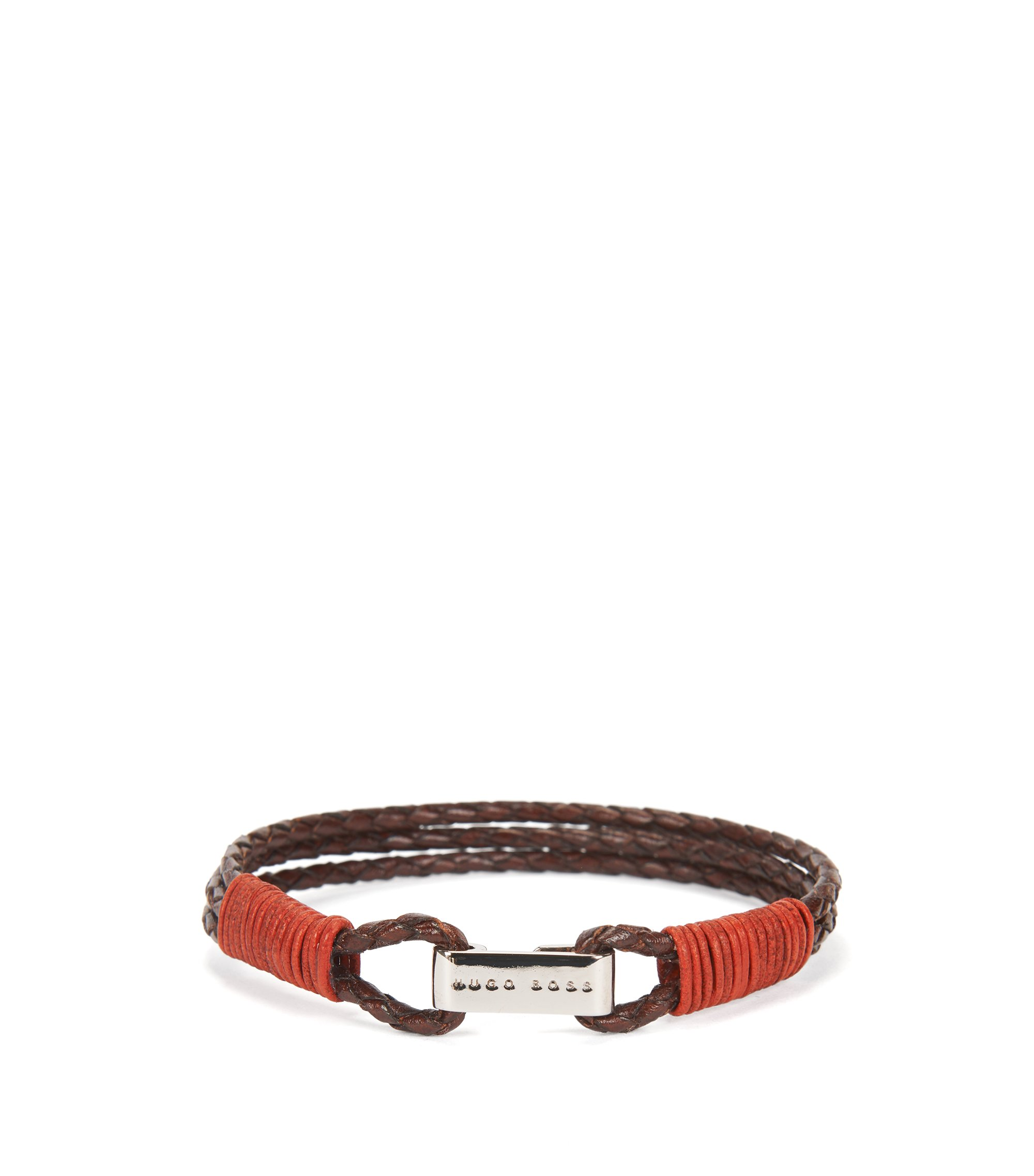 Leather Bracelet | Barti, Dark Brown