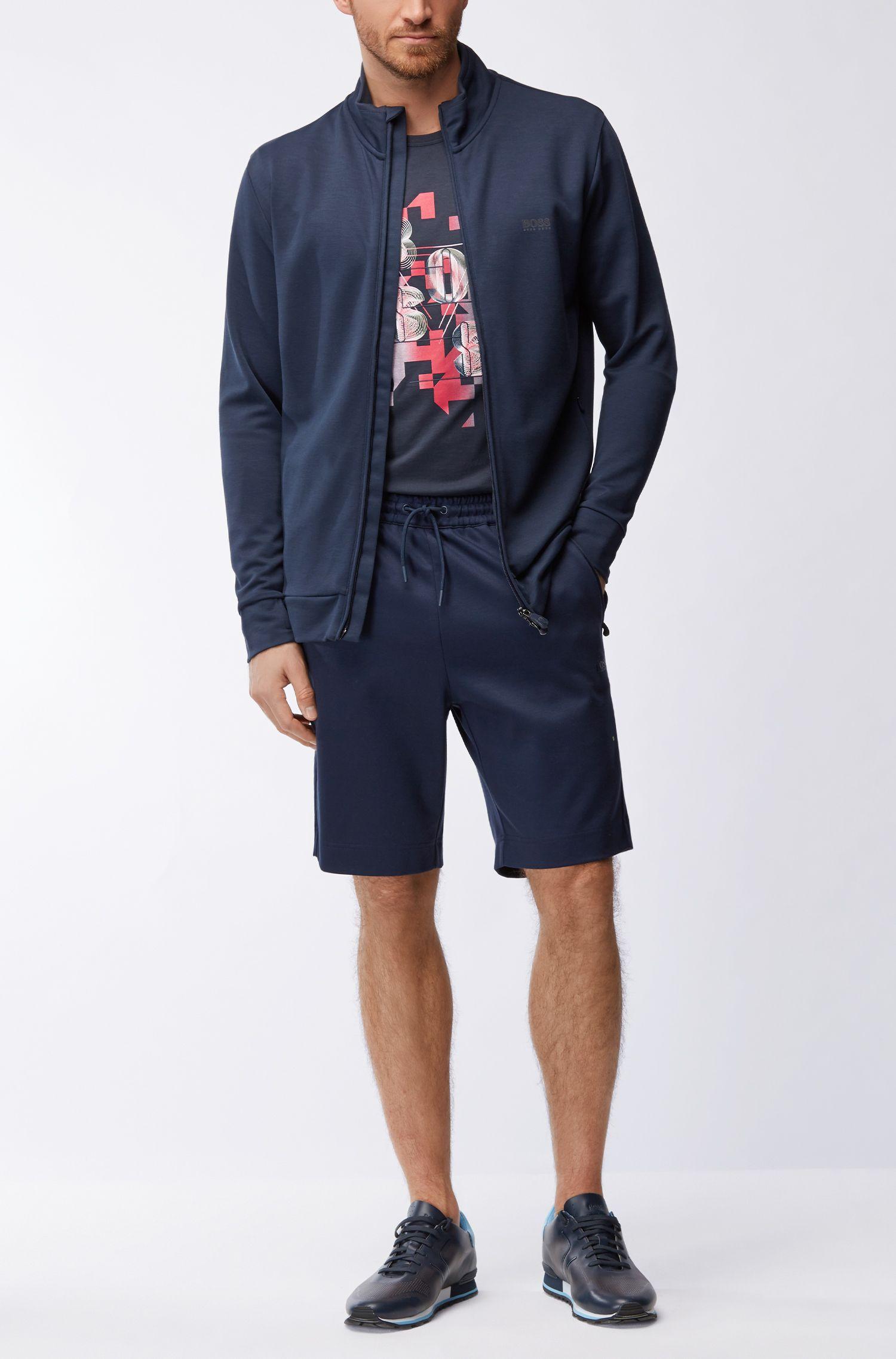 Jersey Blend Sweatshort, Slim Fit | HSL Tech