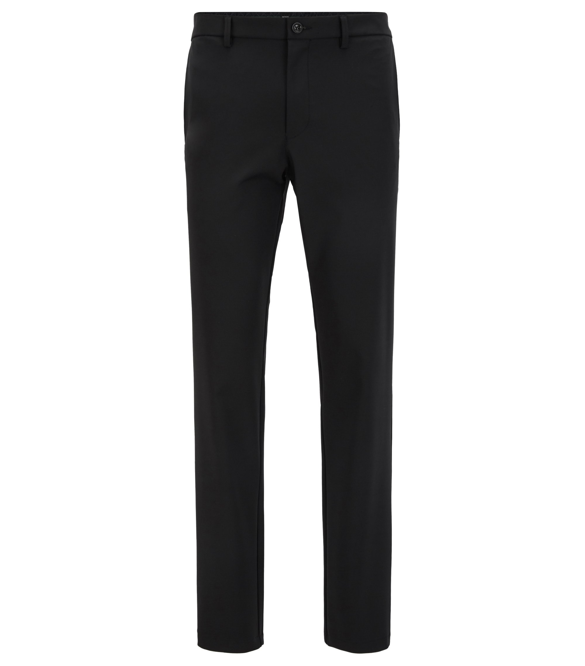 Anti-Wrinkle Pant, Slim Fit | Lavish, Black