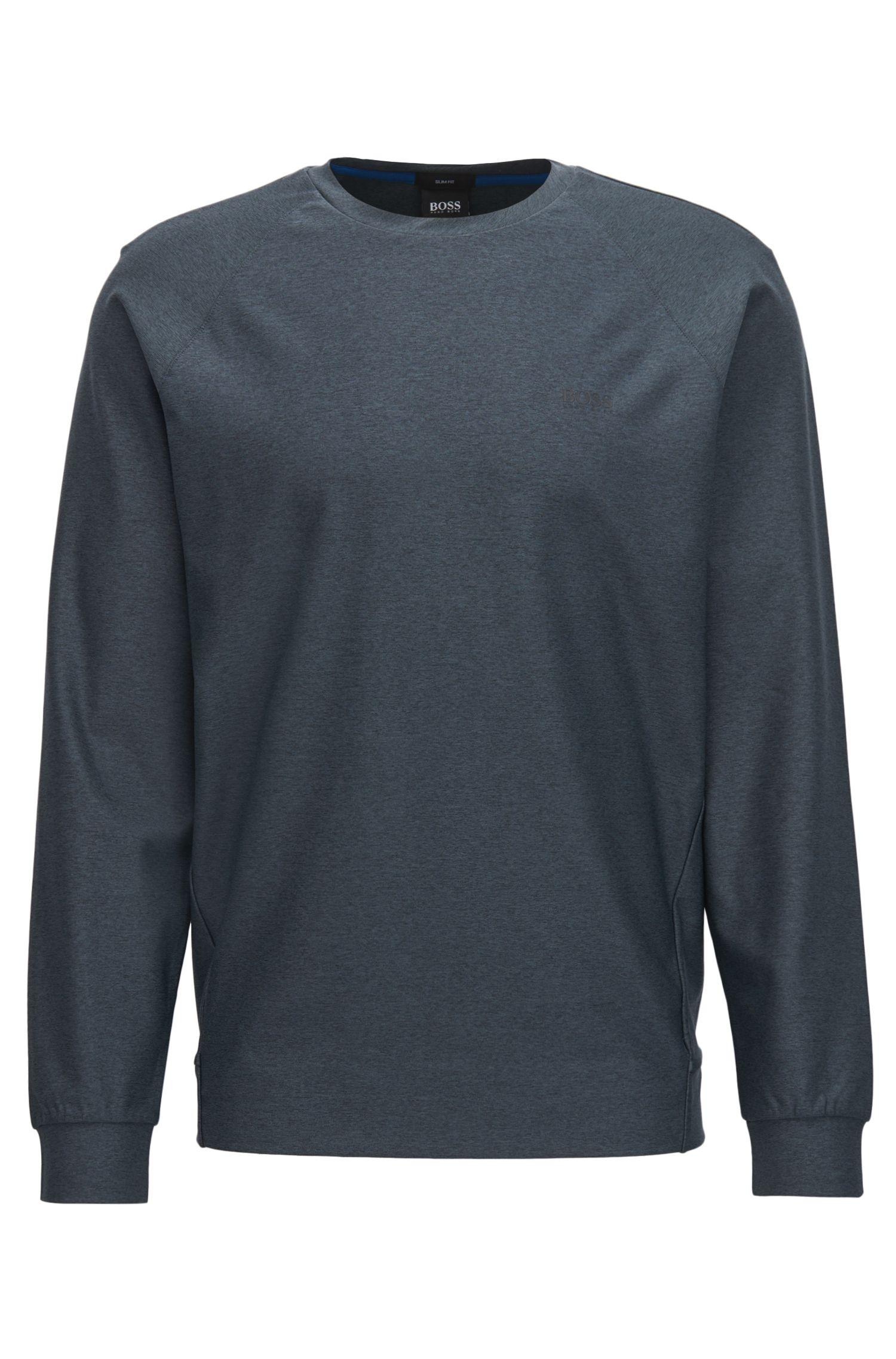 Active Stretch Shirt, Slim Fit   Salbo, Black