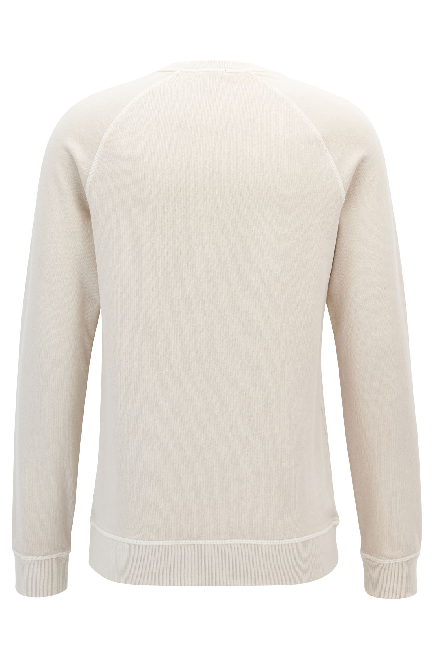 Cotton Sweatshirt | Skubic, Natural