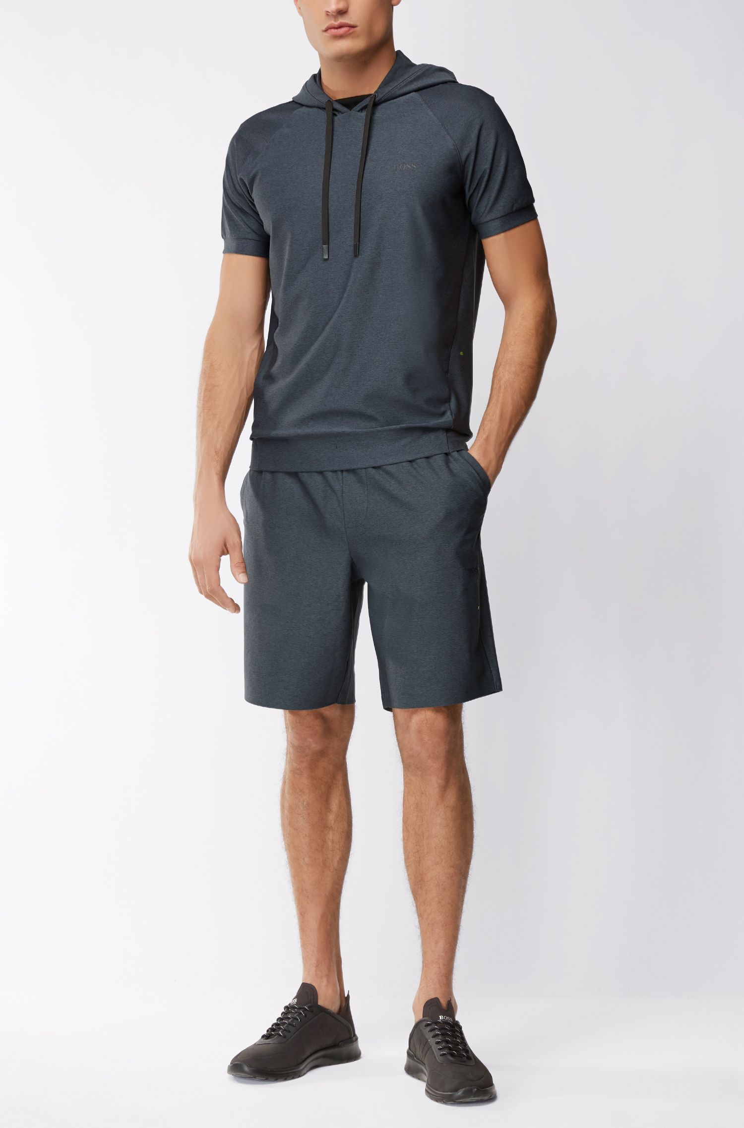 Stretch Jersey Short | Headlo, Black