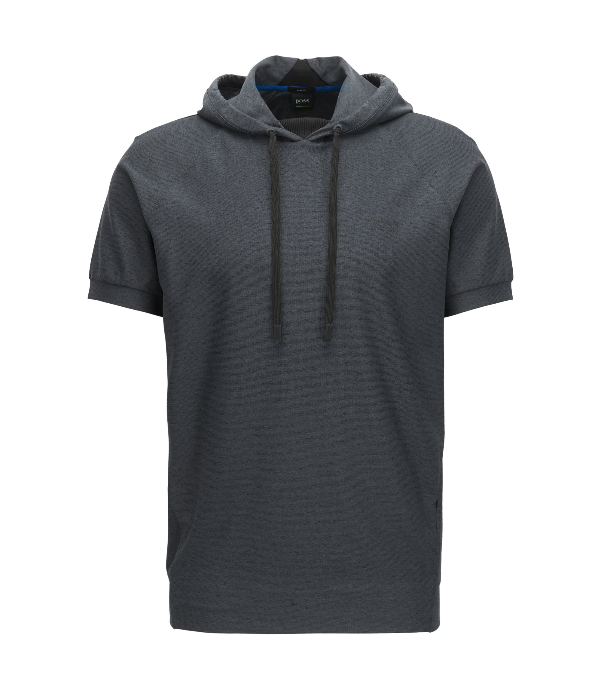 Active Stretch Hoodie, Slim Fit | Sood, Black
