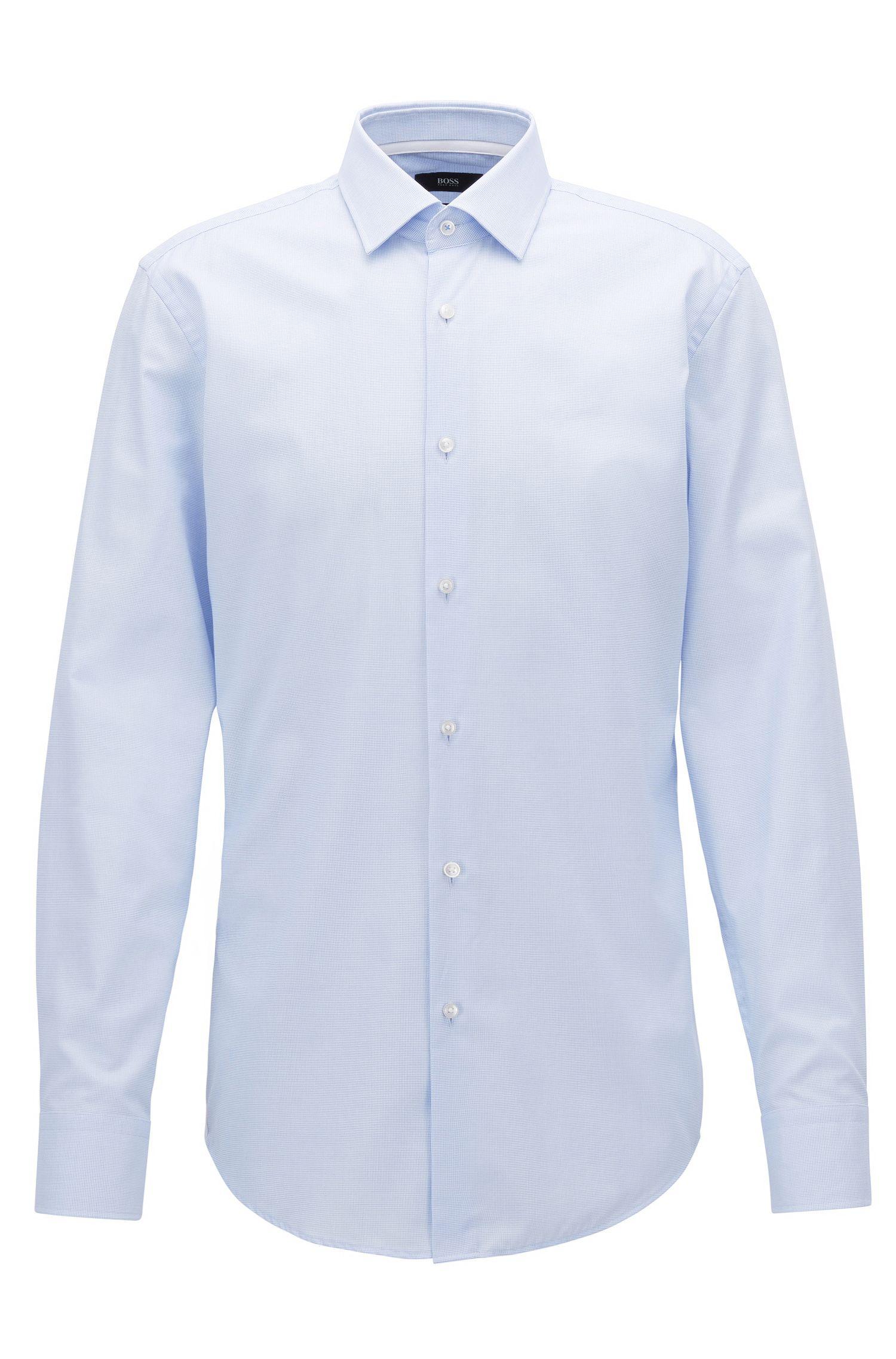 Pindot Oxford Dress Shirt, Slim Fit | Jesse