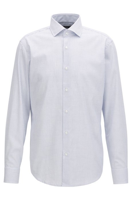 Real Cheap Online Regular-fit shirt in easy-iron cotton BOSS Pay With Visa Sale Online Discount Cheapest Price Buy Cheap Sale Sale Supply 2vTvqKGlV