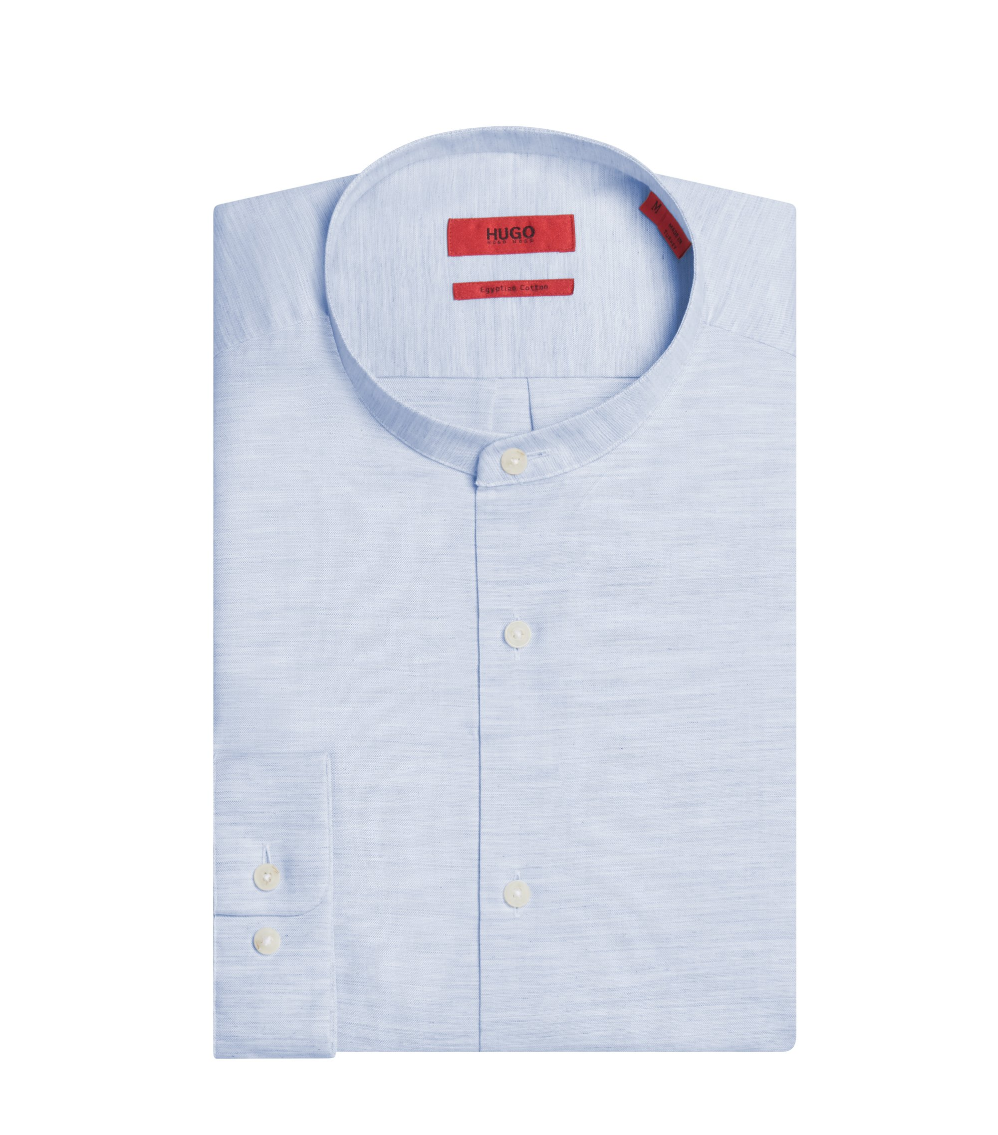 Cotton Sport Shirt, Regular Fit | Eddison W, Light Blue