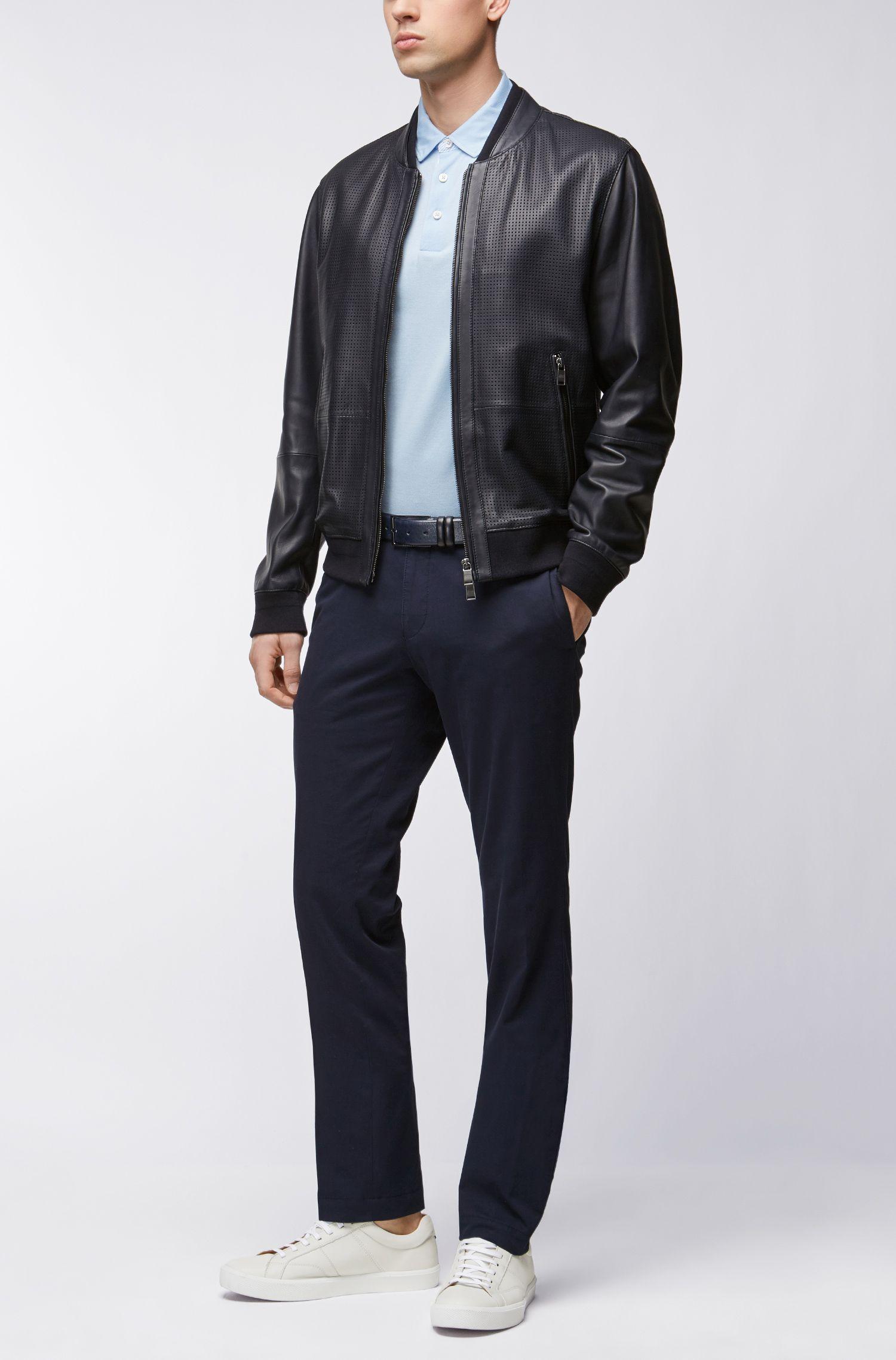 Mercerized Cotton Polo Shirt, Regular Fit | Press