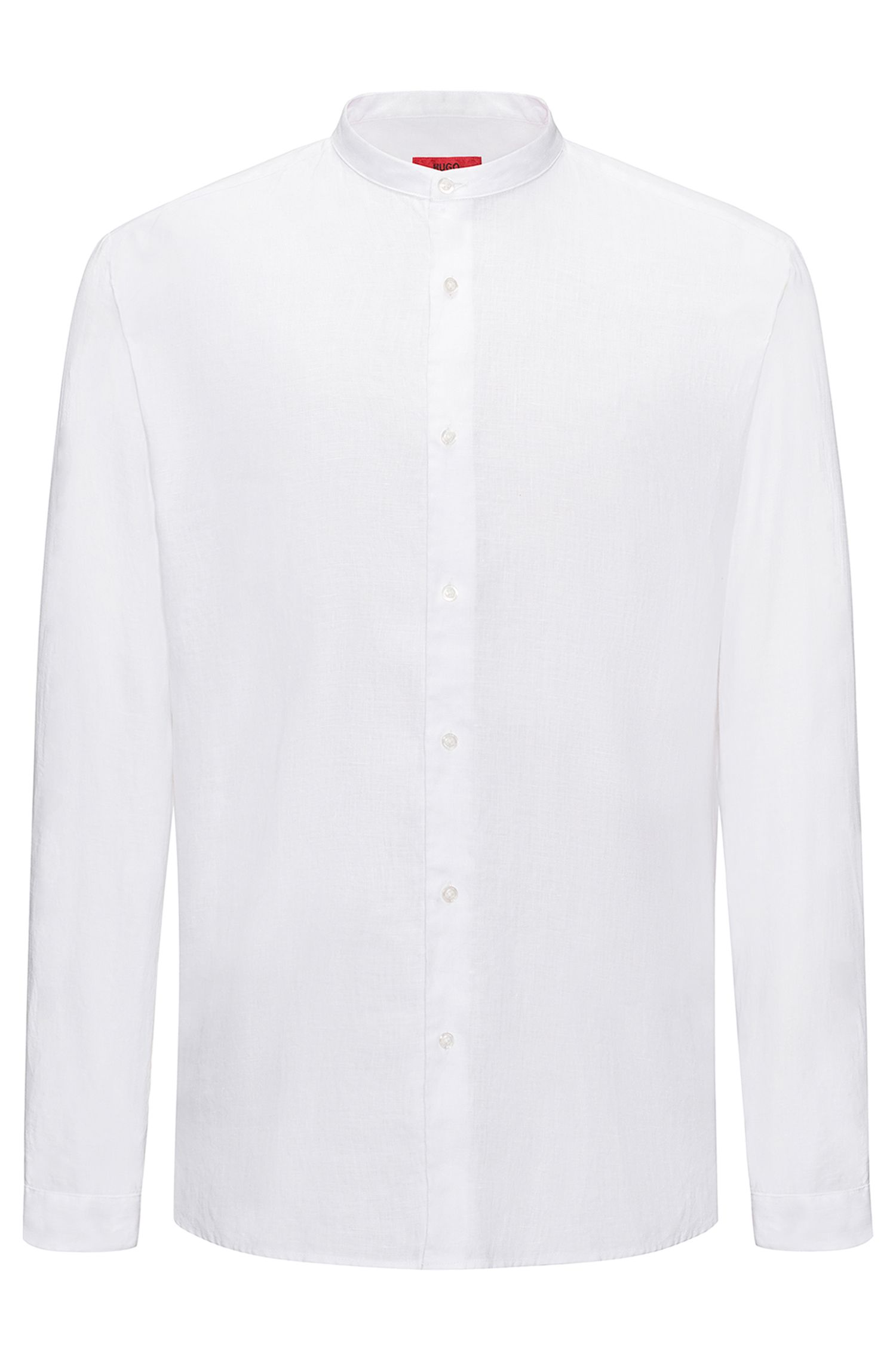 Linen Sport Shirt, Regular Fit | Eddison W