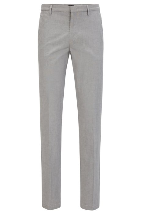 06bfea20d BOSS - Stretch Cotton Pant, Slim Fit | Kaito