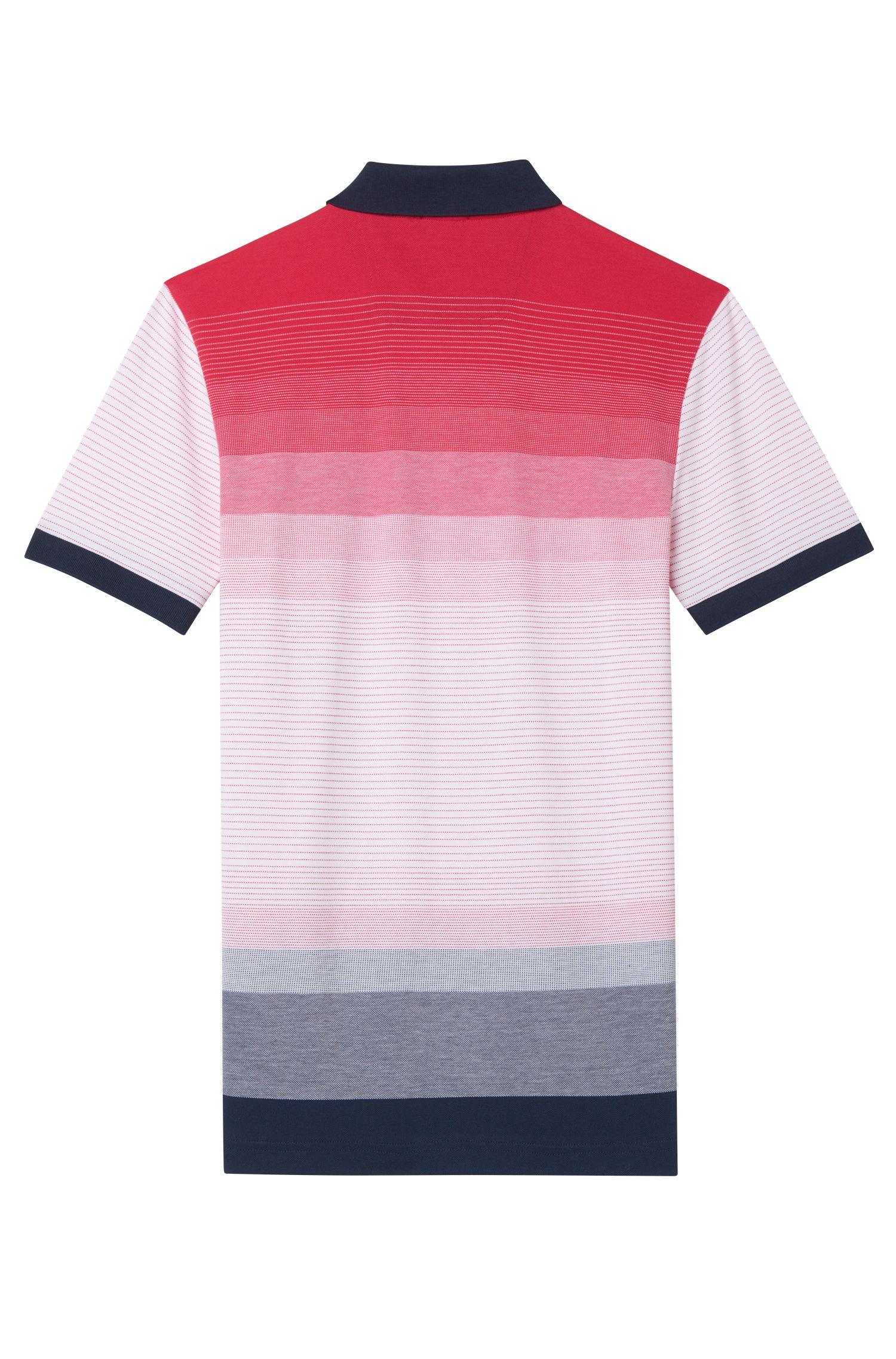 Colorblock Polo Shirt, Slim Fit | Paule