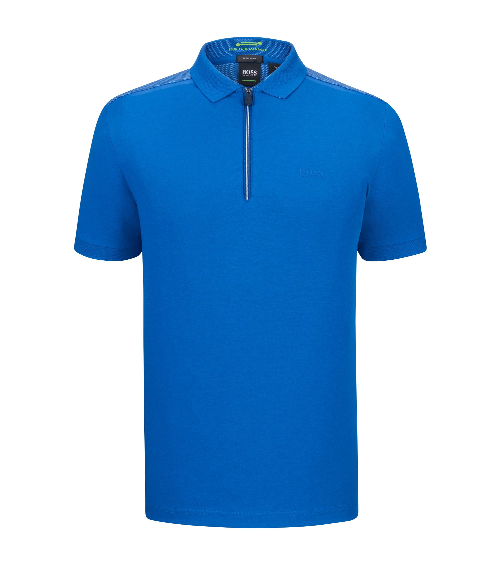 Moisture Manager Stretch Polo Shirt, Regular Fit | Philix , Blue