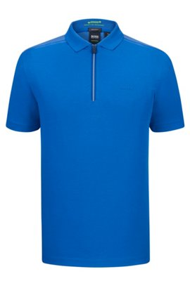 BOSS CASUAL PRIME SLIIM FIT - Polo - blue 79cTgB18
