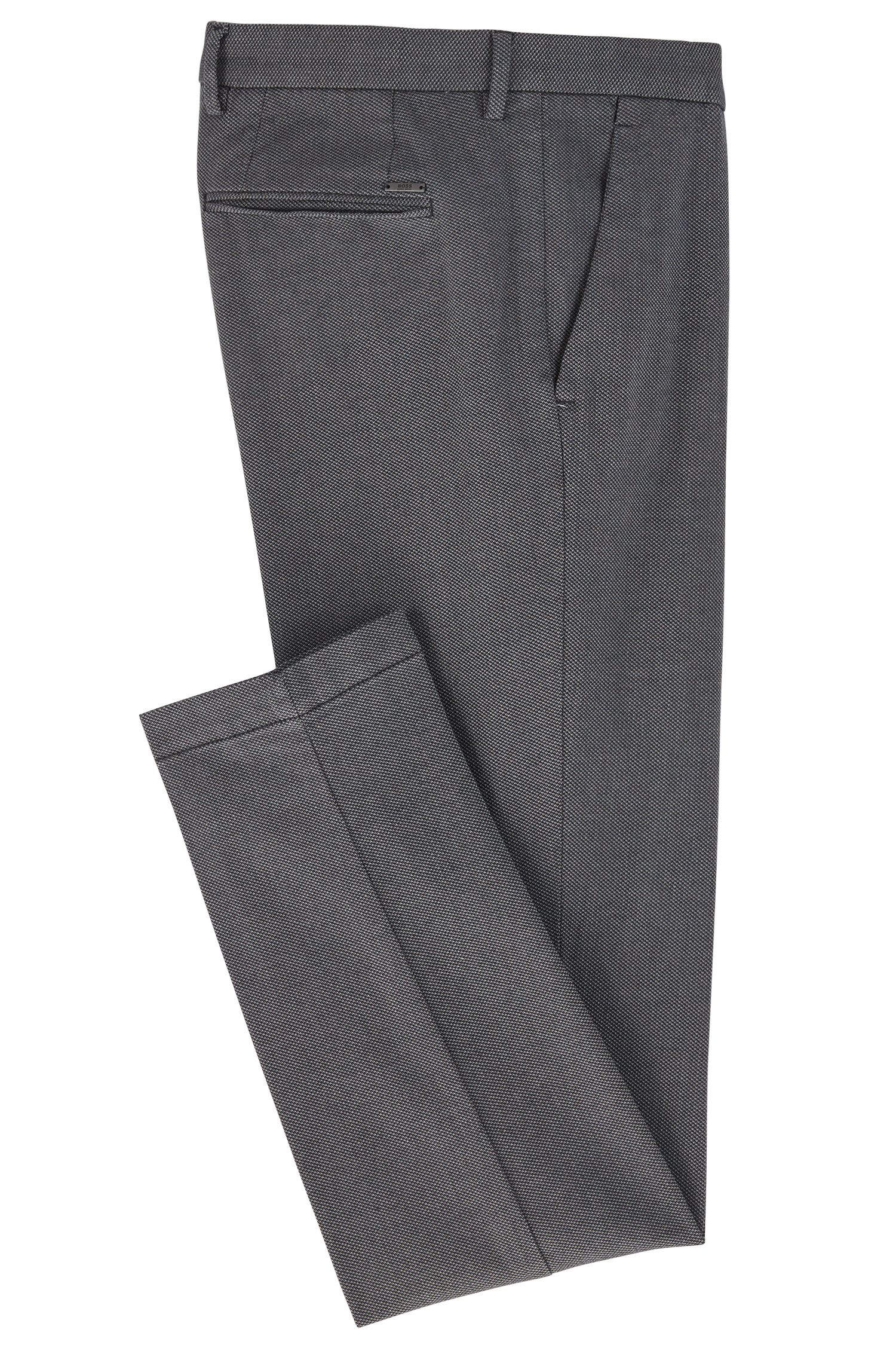 Stretch Cotton Pant, Tapered Fit | Kaito W