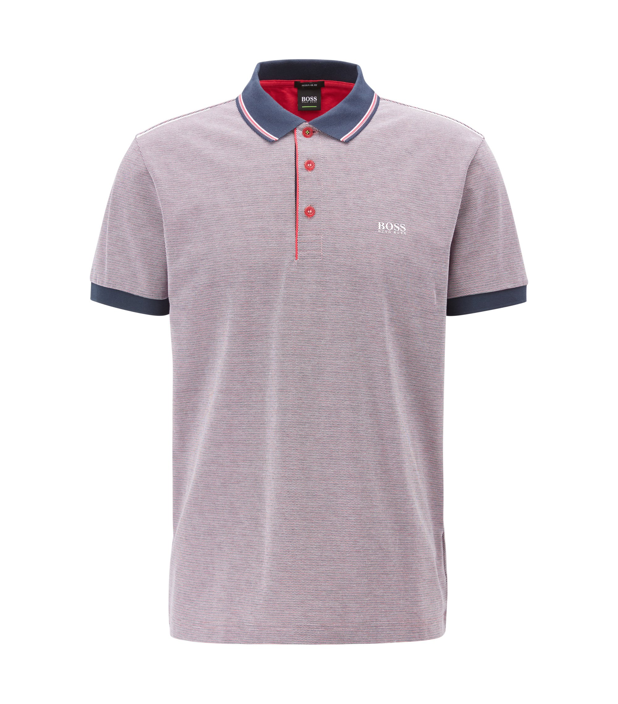 Piqué Cotton Polo Shirt, Regular Fit | Paddy, Pink