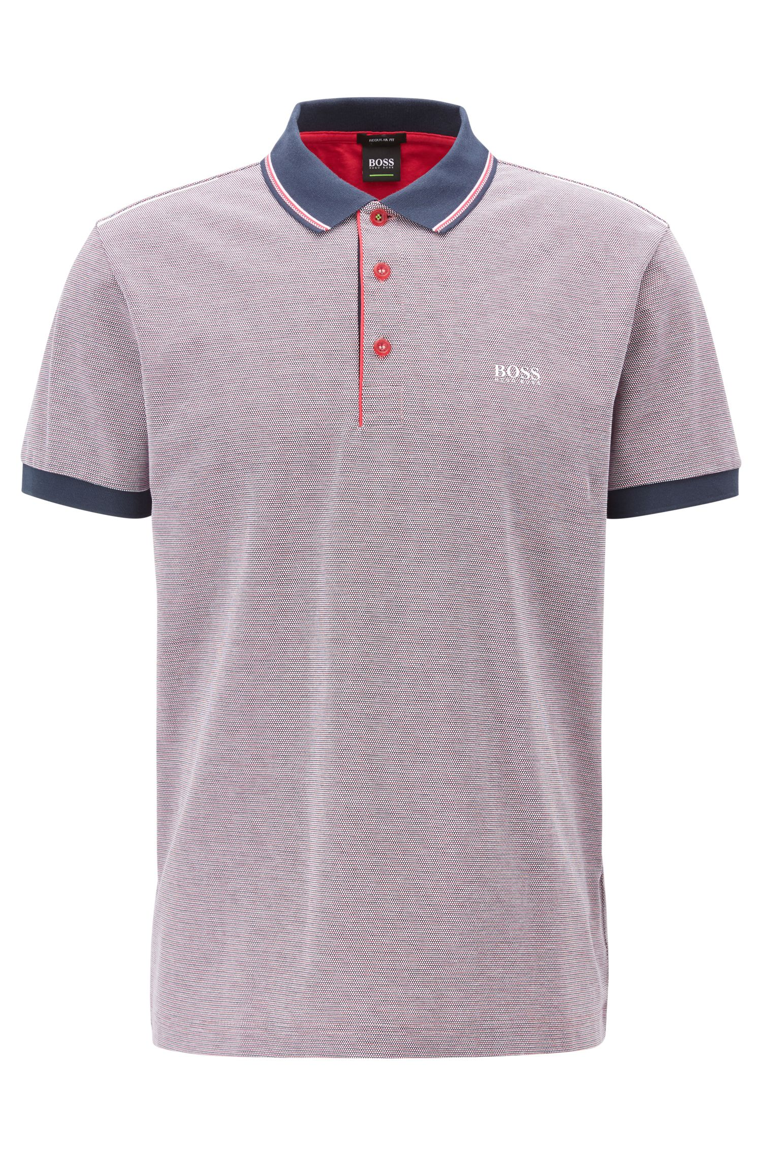 Piqué Cotton Polo Shirt, Regular Fit | Paddy