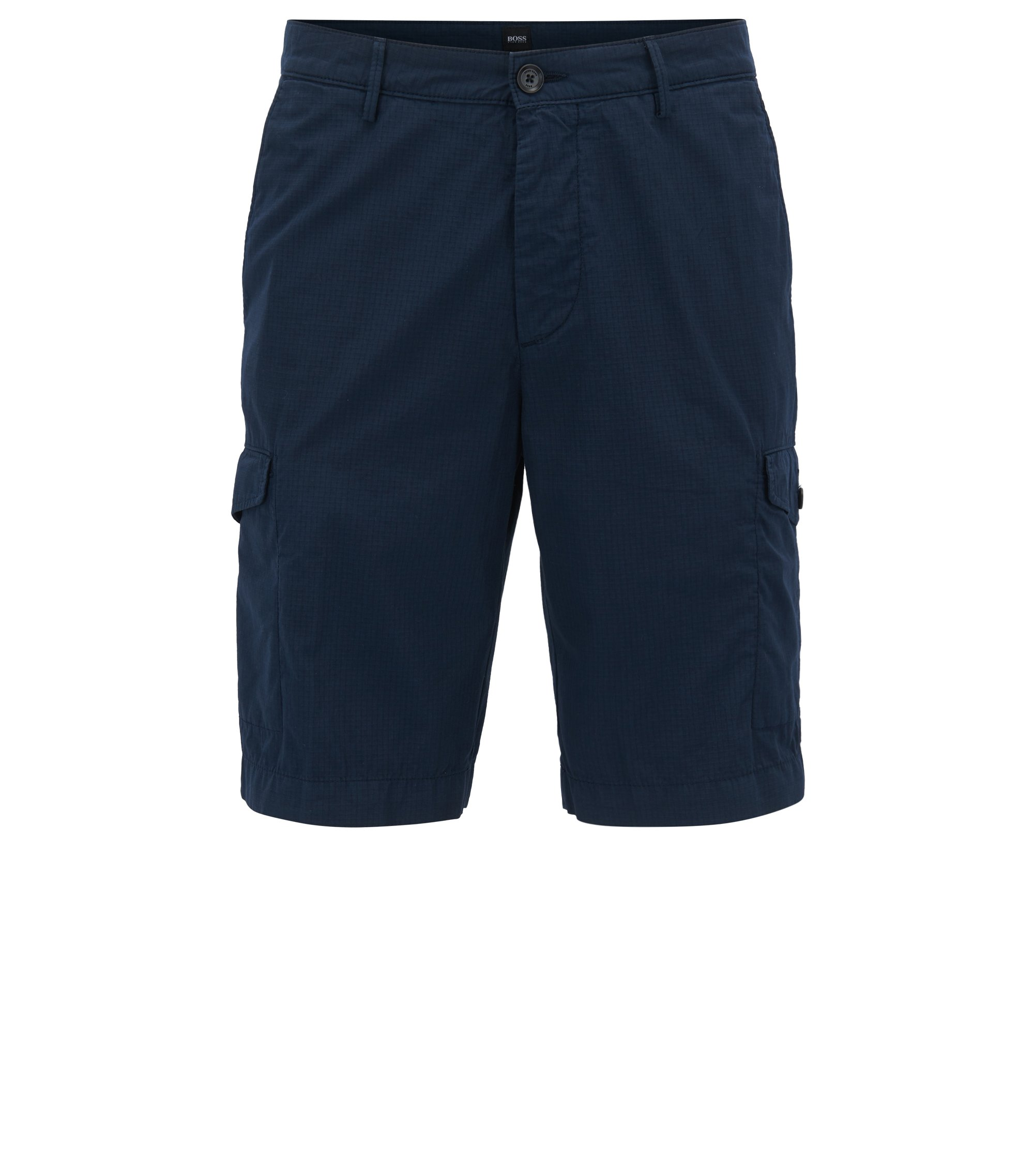 Cargo Short, Regular Fit | Crigan Short Cargo D, Dark Blue