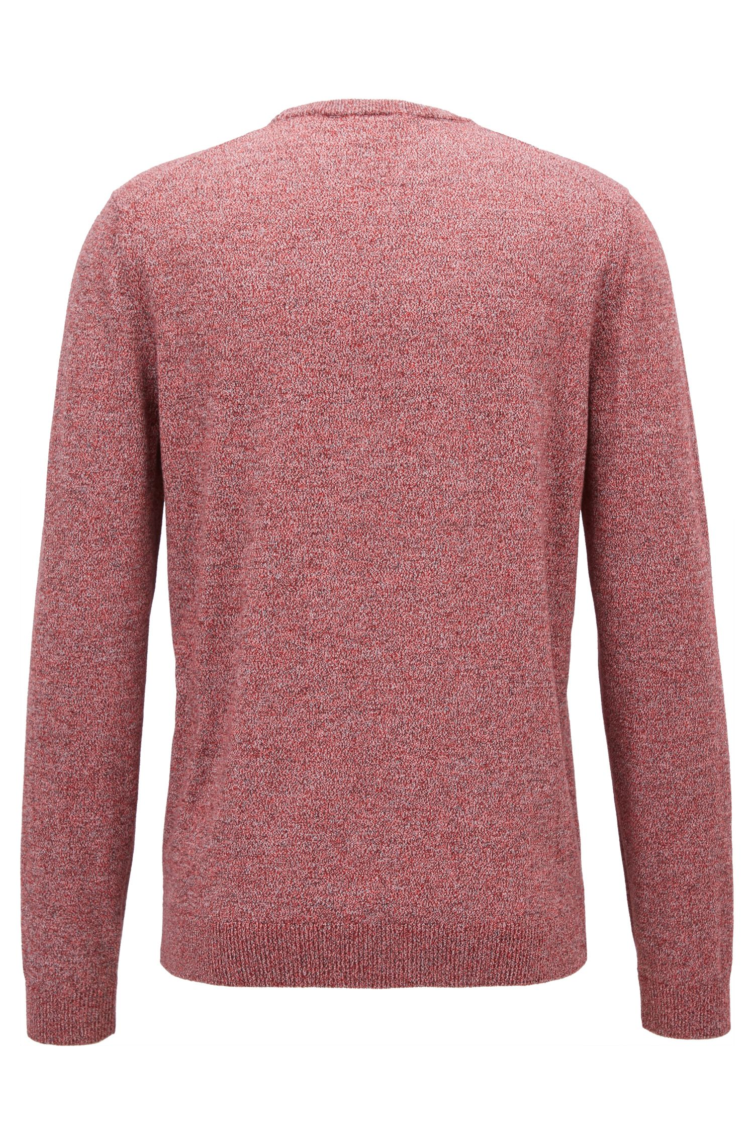 Cotton V-Neck Sweater | Fabbert D