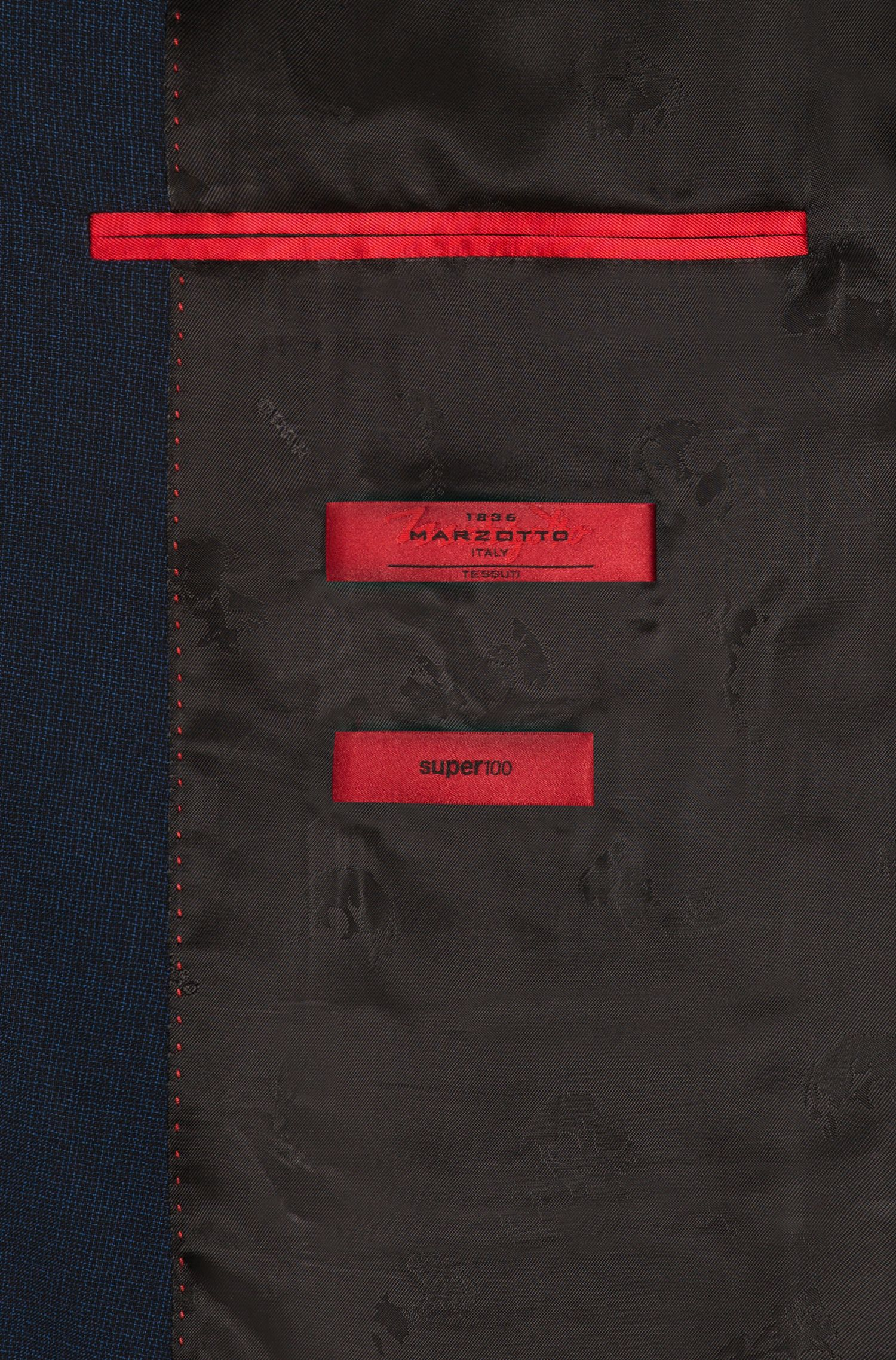 Italian Virgin Wool Suit, Extra Slim Fit   Arti/Hesten