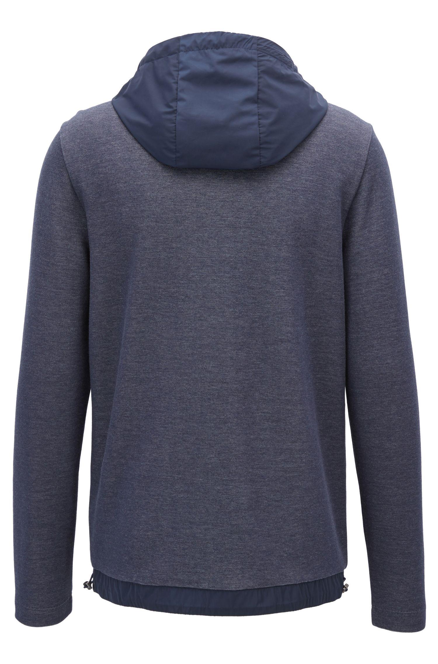 Cotton Blend Sweatshirt   Seeger, Dark Blue