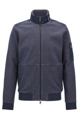 Cotton Denim Jacket | Shepherd, Dark Blue