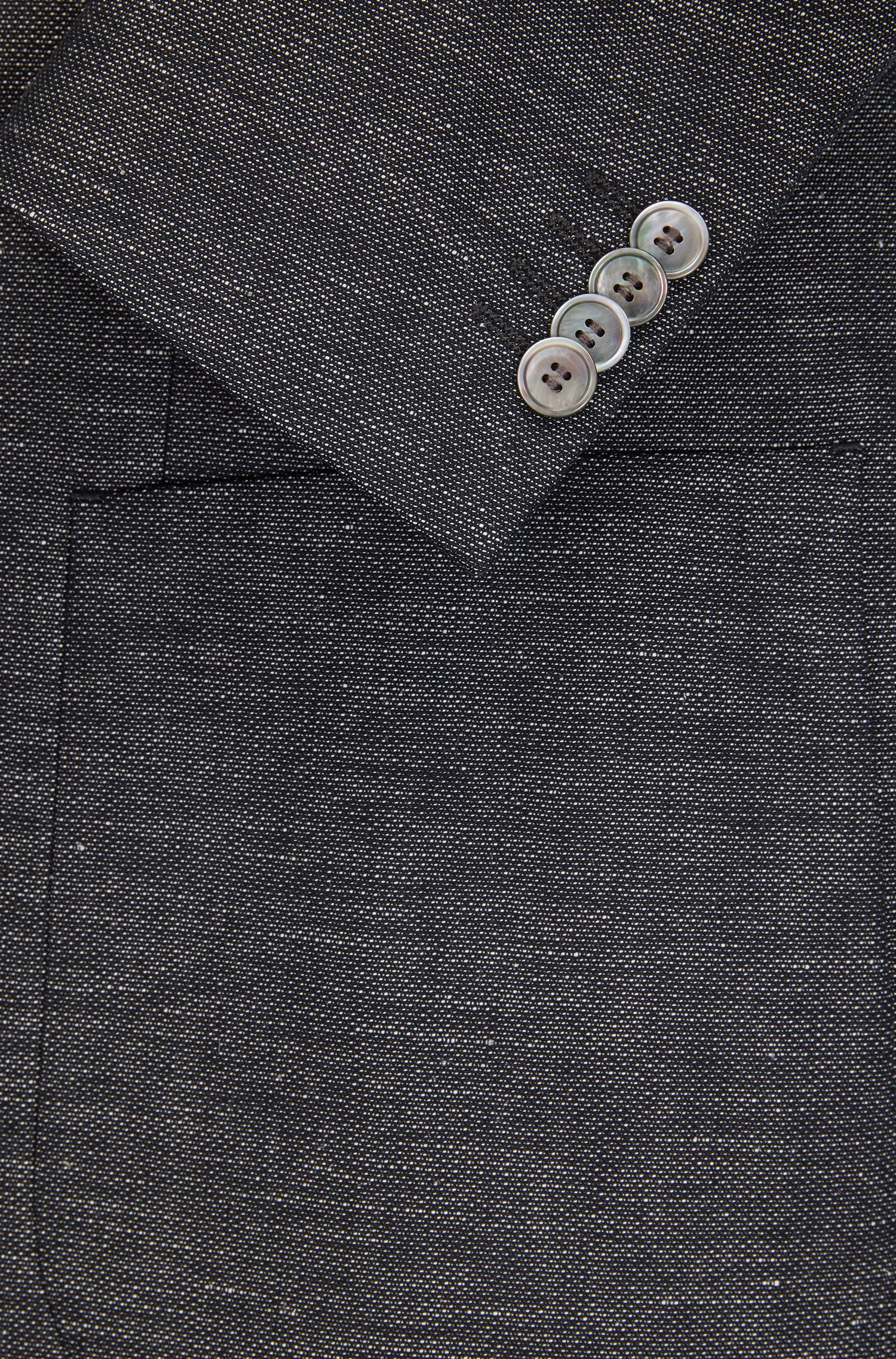 Cotton Linen Sport Coat, Extra Slim Fit | Raye