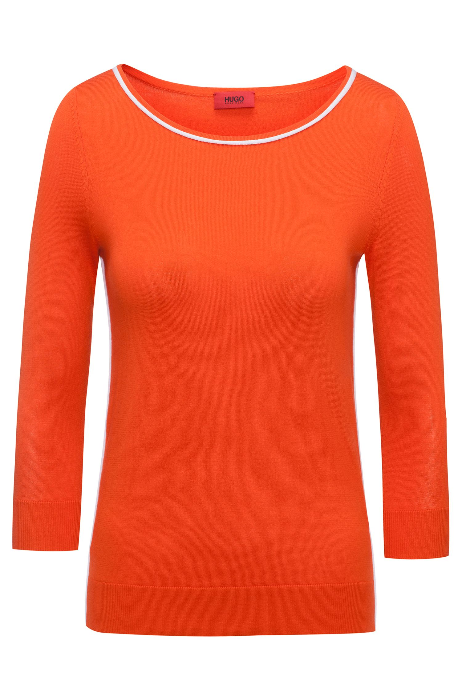 Cotton Silk Oversized Sweater | Sastia
