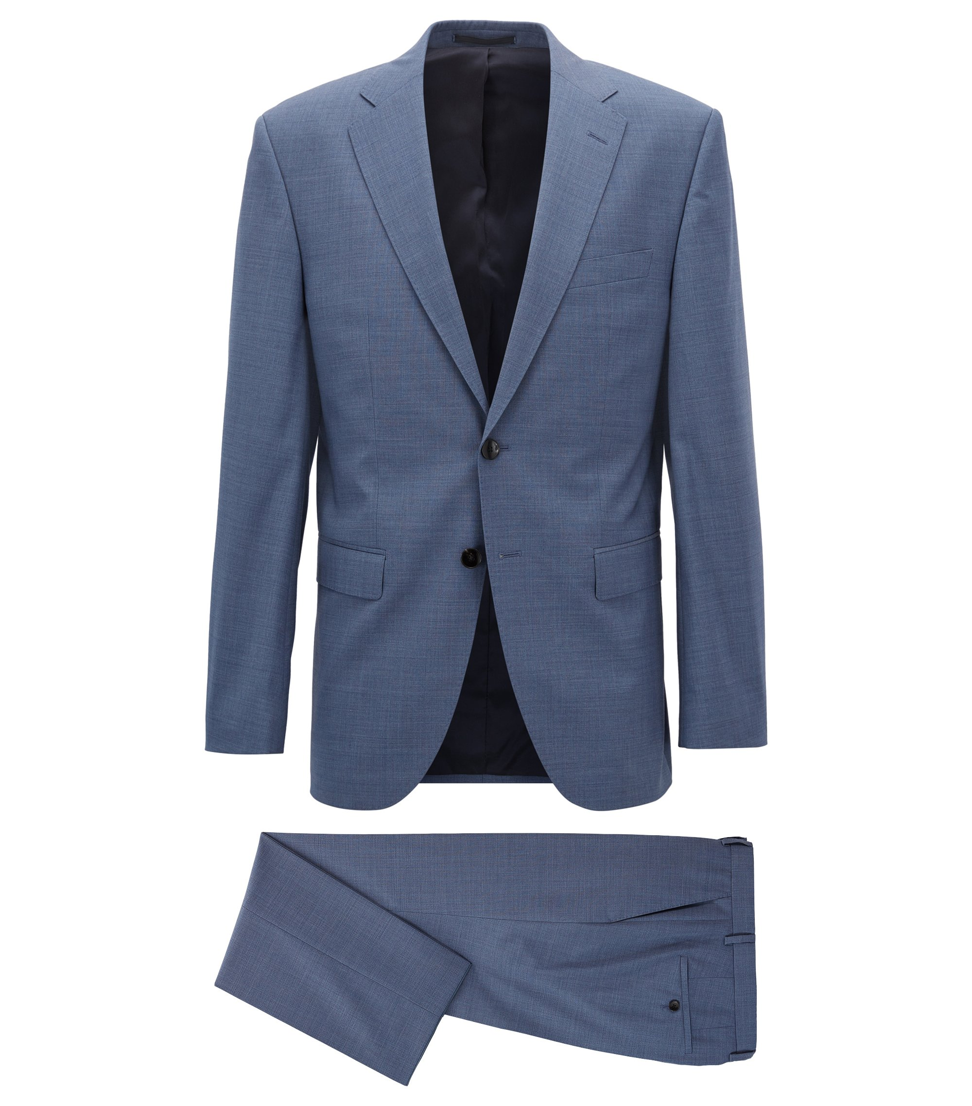 Virgin Wool Suit, Regular Fit | Phoenix/Madisen, Light Blue