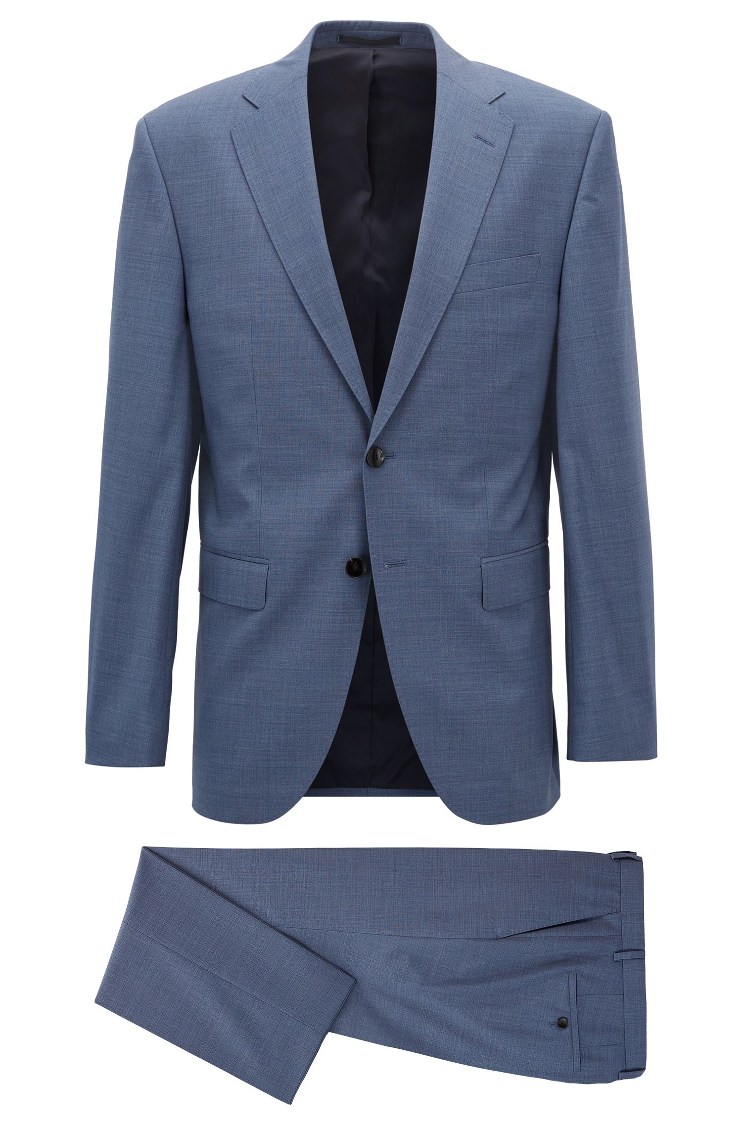 Virgin Wool Suit, Regular Fit | Phoenix/Madisen