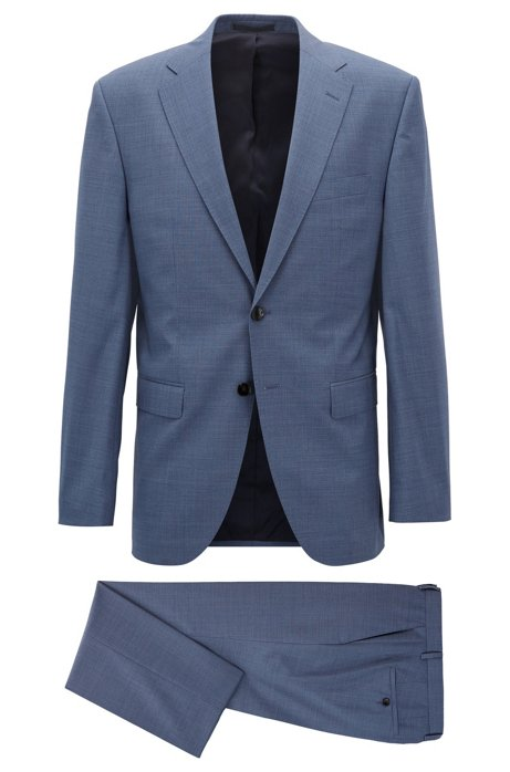 BOSS - Virgin Wool Suit, Regular Fit | Phoenix/Madisen