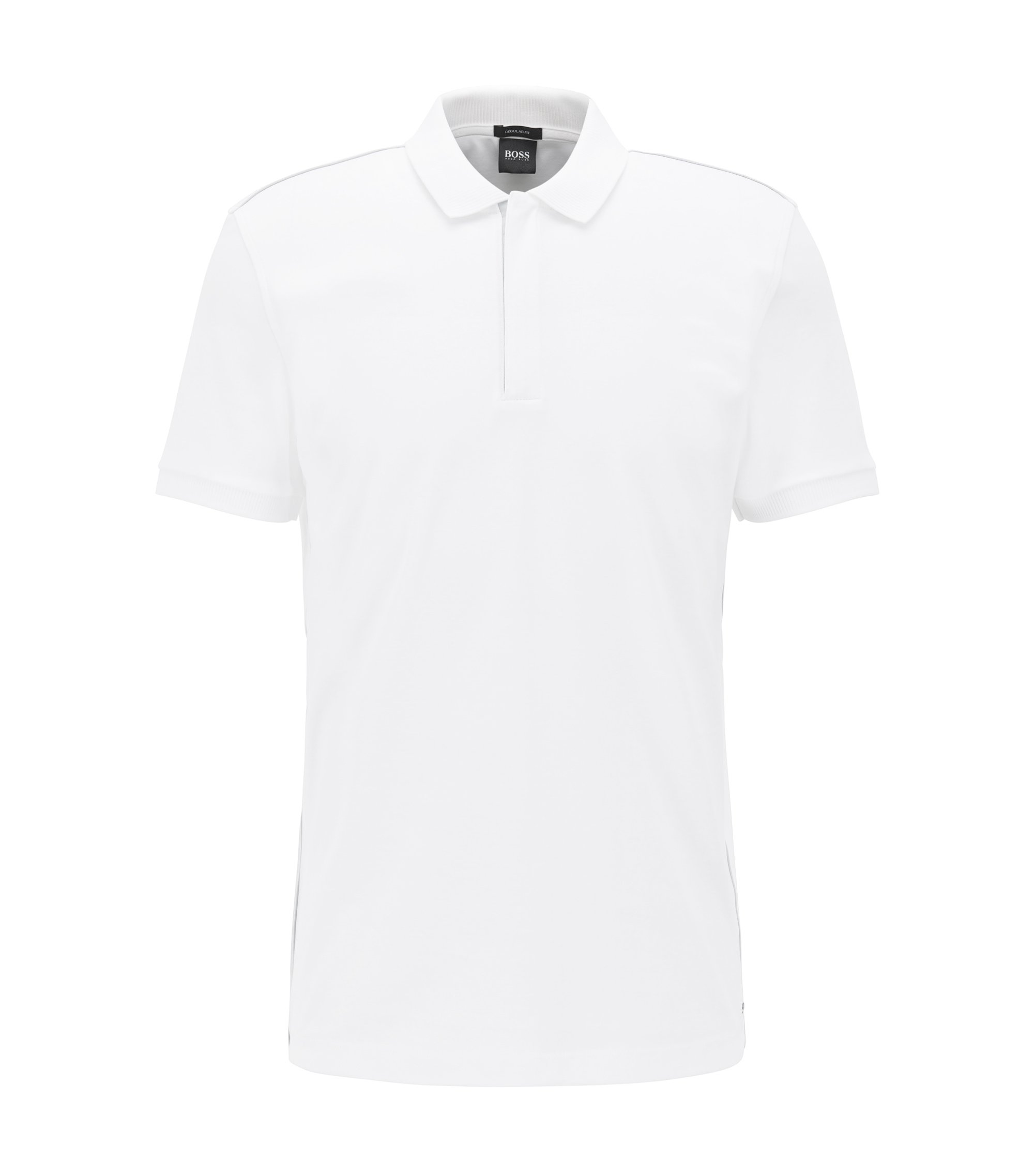 Cotton Polo Shirt, Regular Fit | Pohl, White