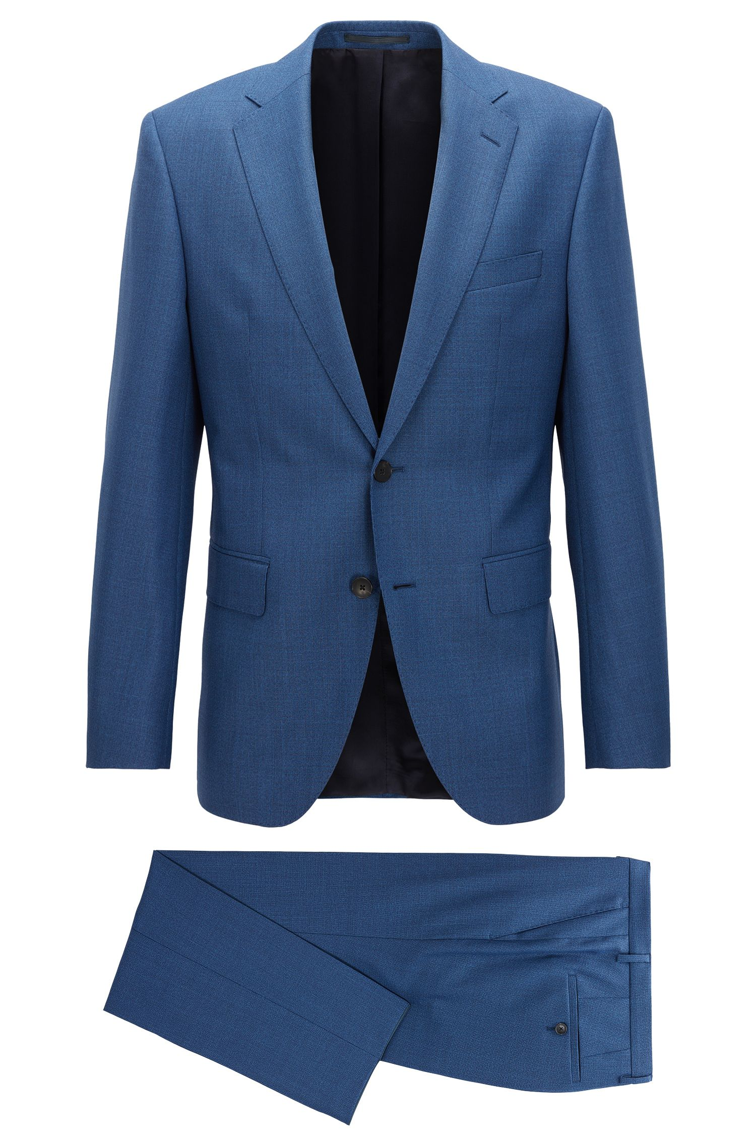 Virgin Wool Suit, Regular Fit | Johnstons/Lenon