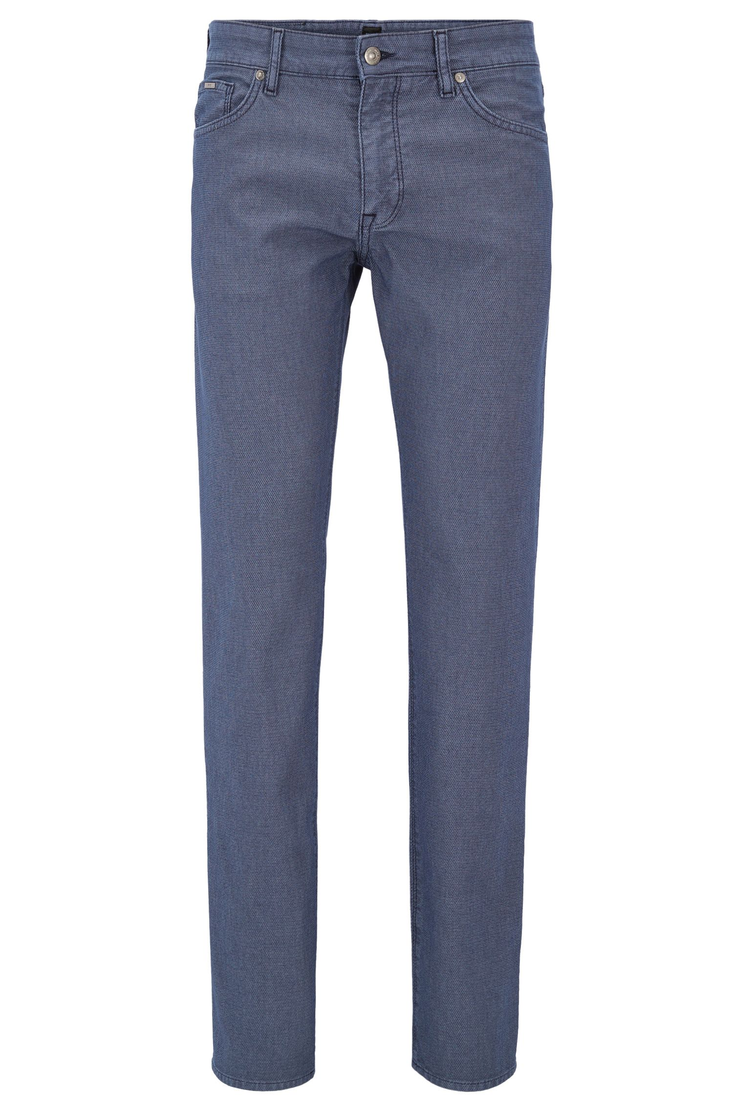 Cotton Blend Pant, Regular Fit | Maine
