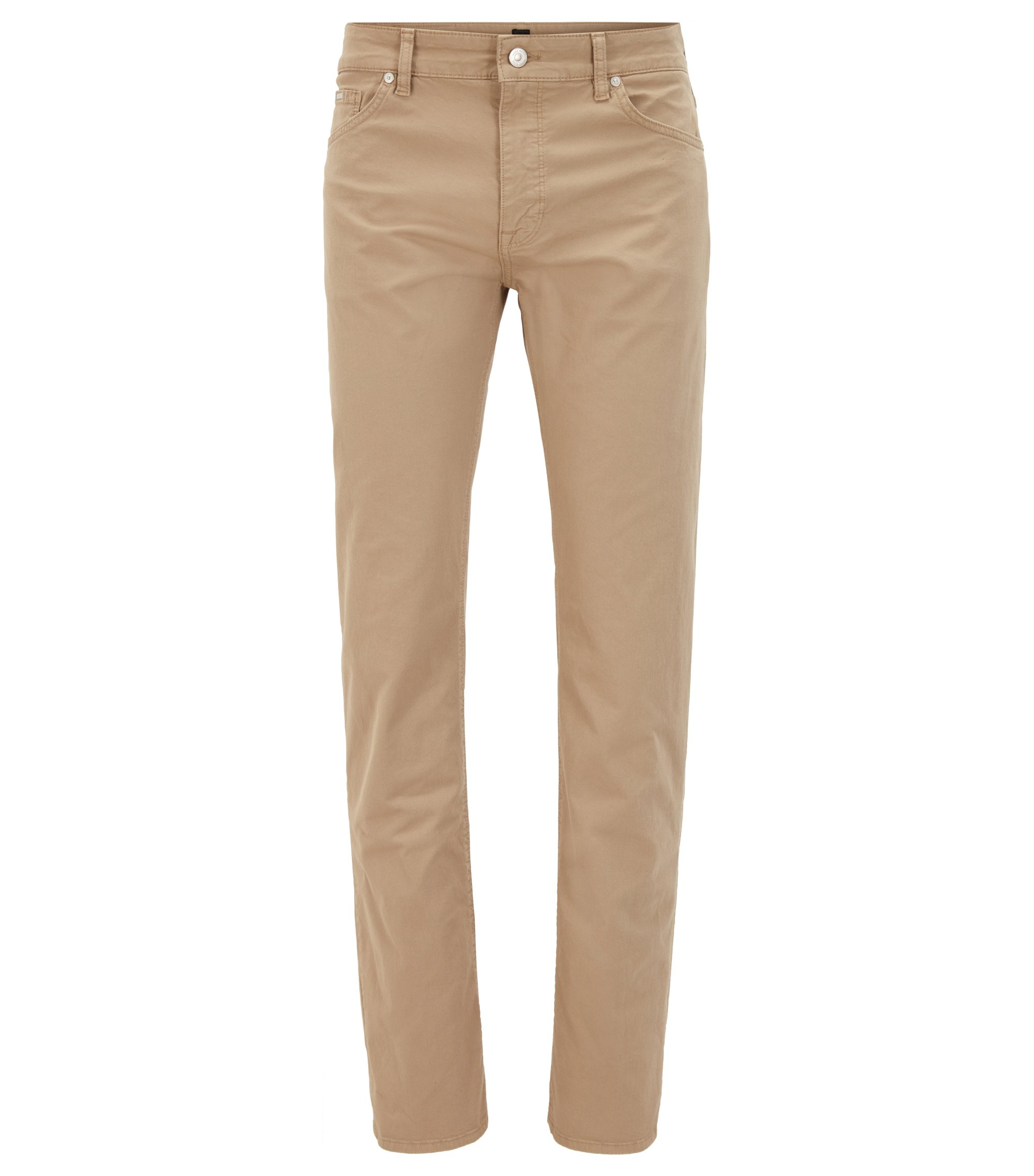 Stretch Cotton Pant, Regular Fit | Maine, Beige