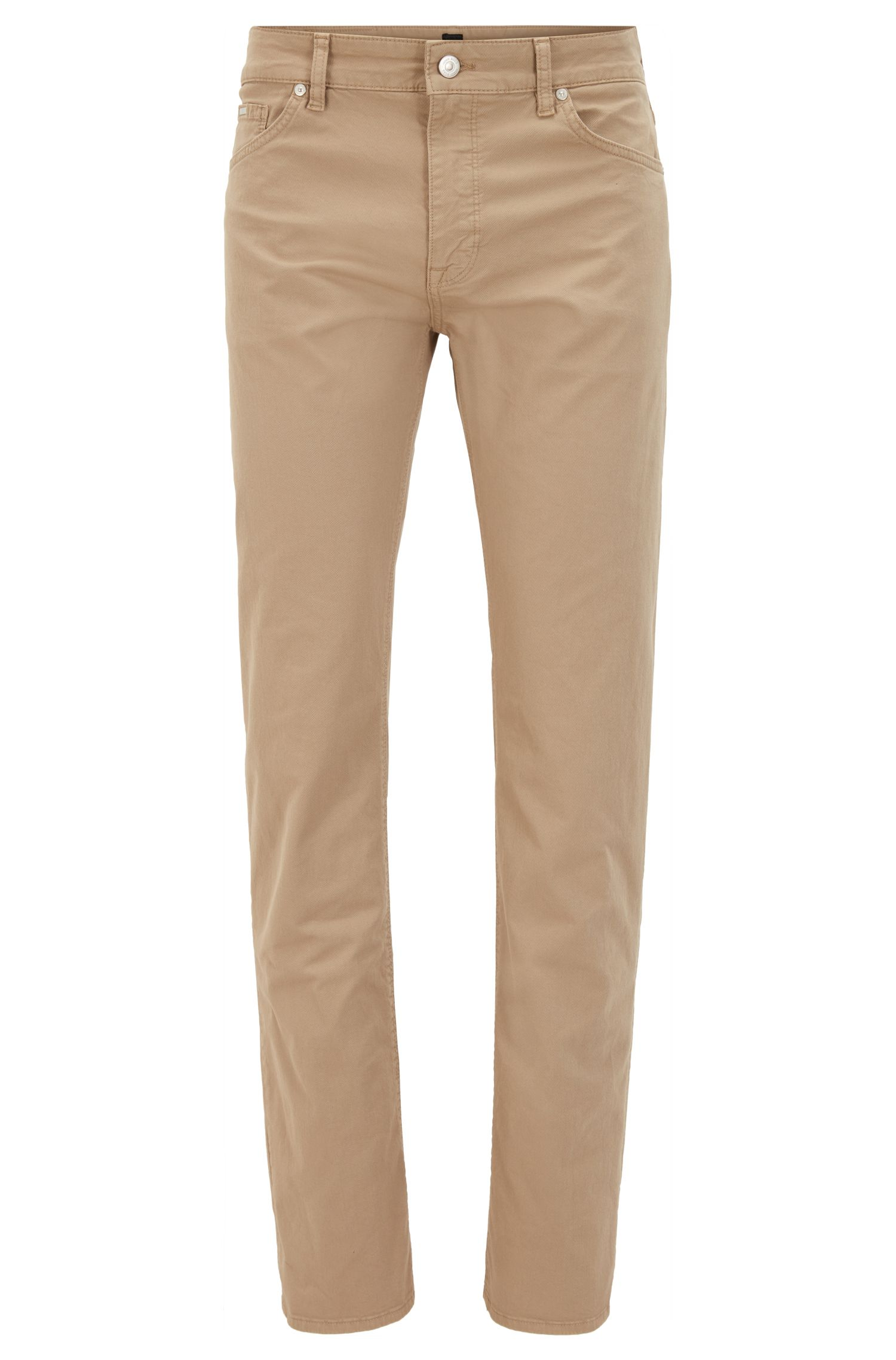Stretch Cotton Pant, Regular Fit   Maine