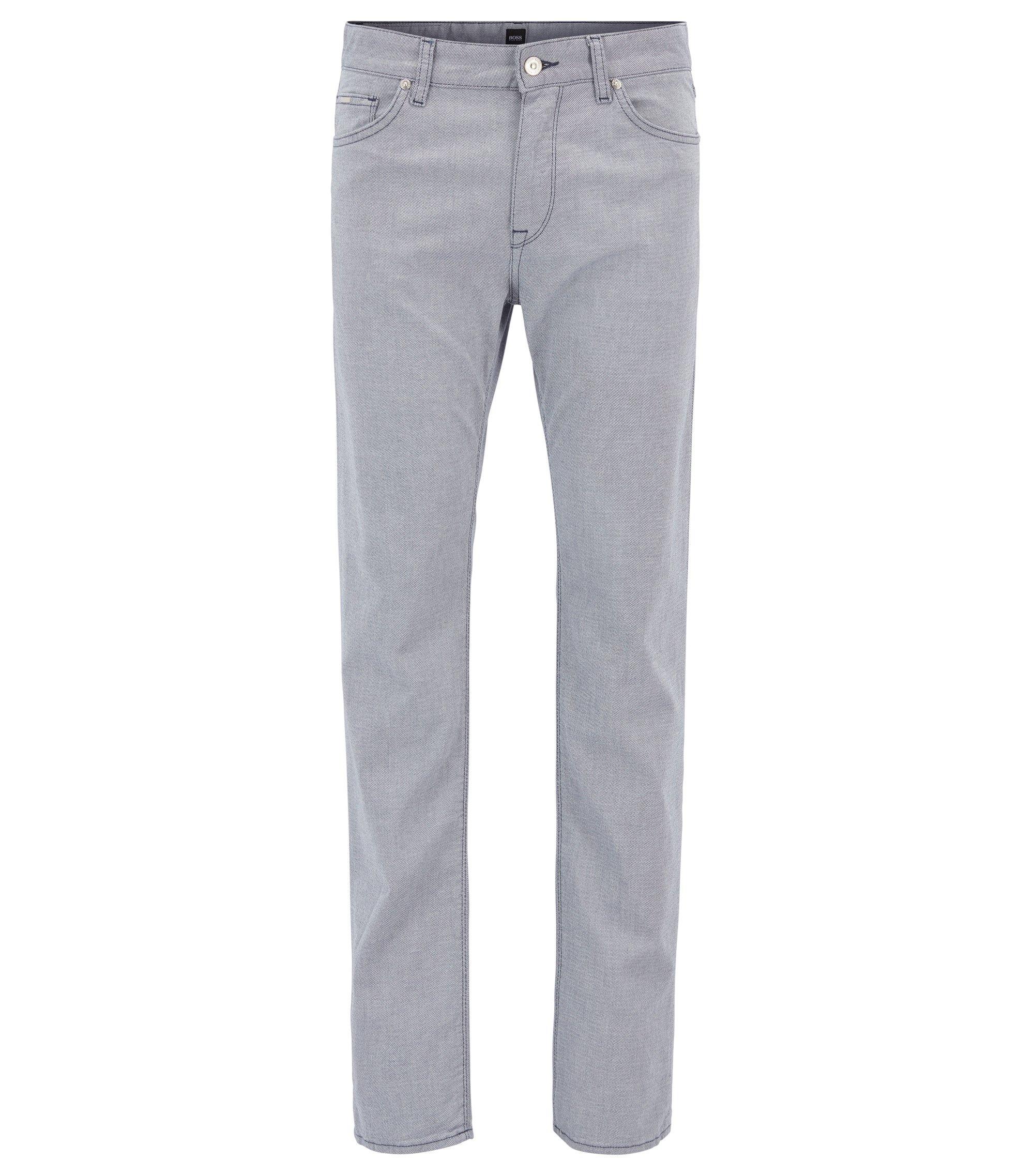 Stretch Cotton Pant, Regular Fit   Maine, Open Blue