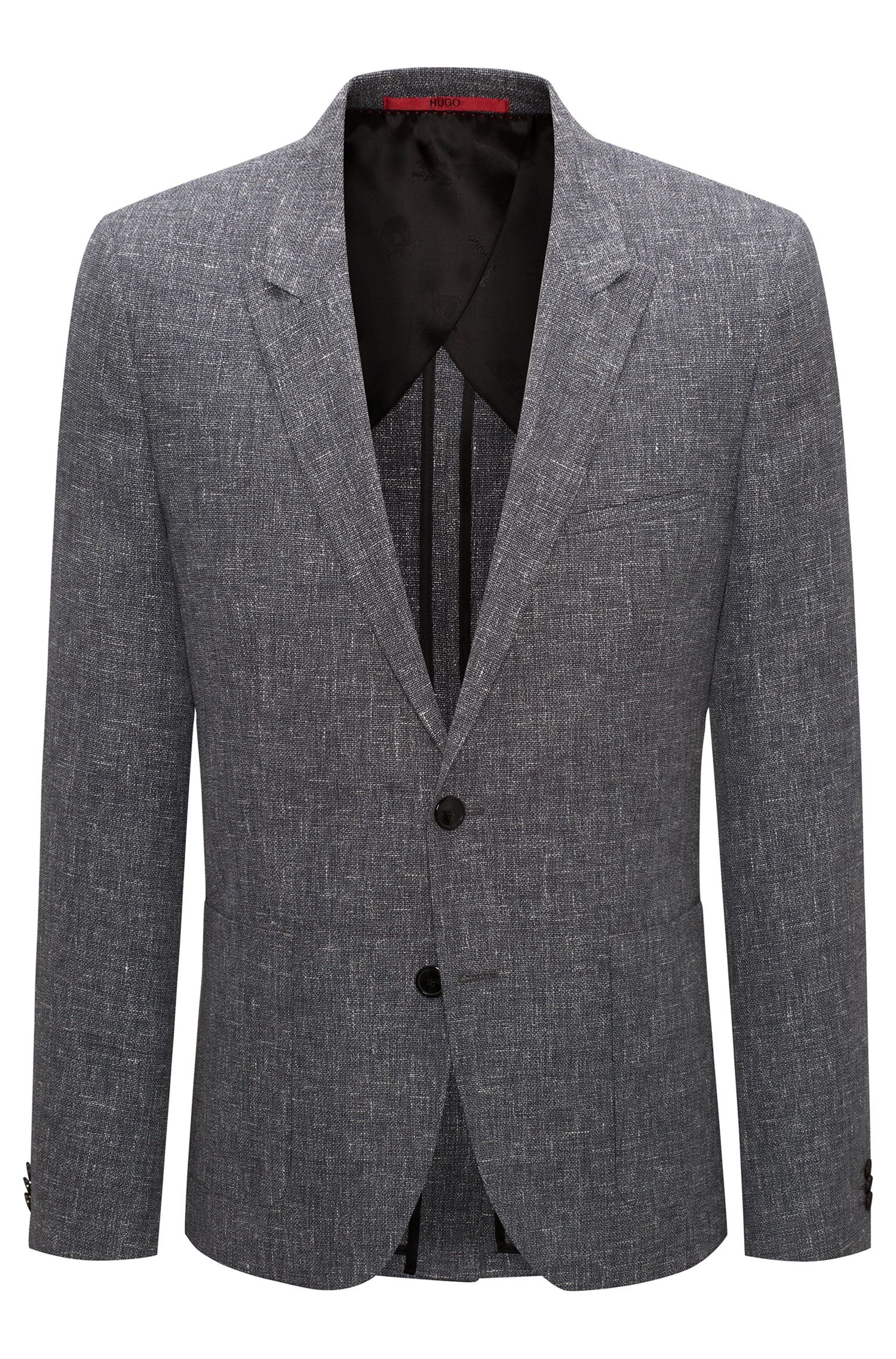 Wool Linen Sport Coat, Extra Slim Fit | Arti