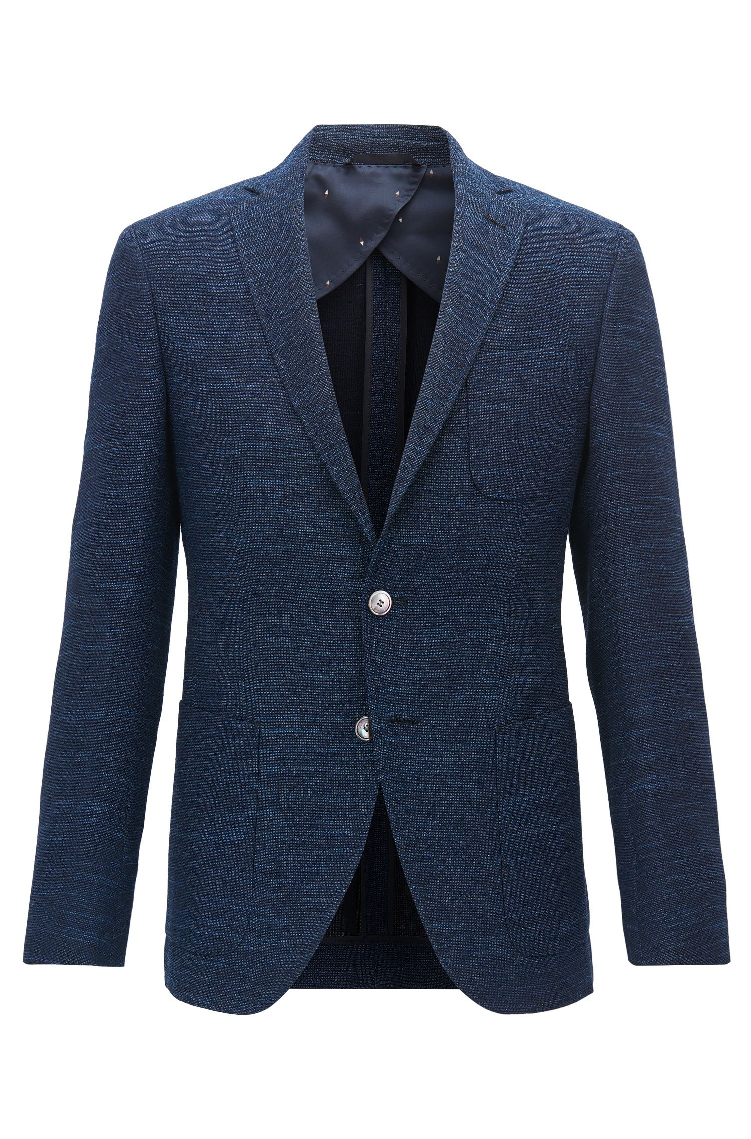 Yarn-Dyed Wool Blend Sport Coat, Extra Slim Fit | Raye